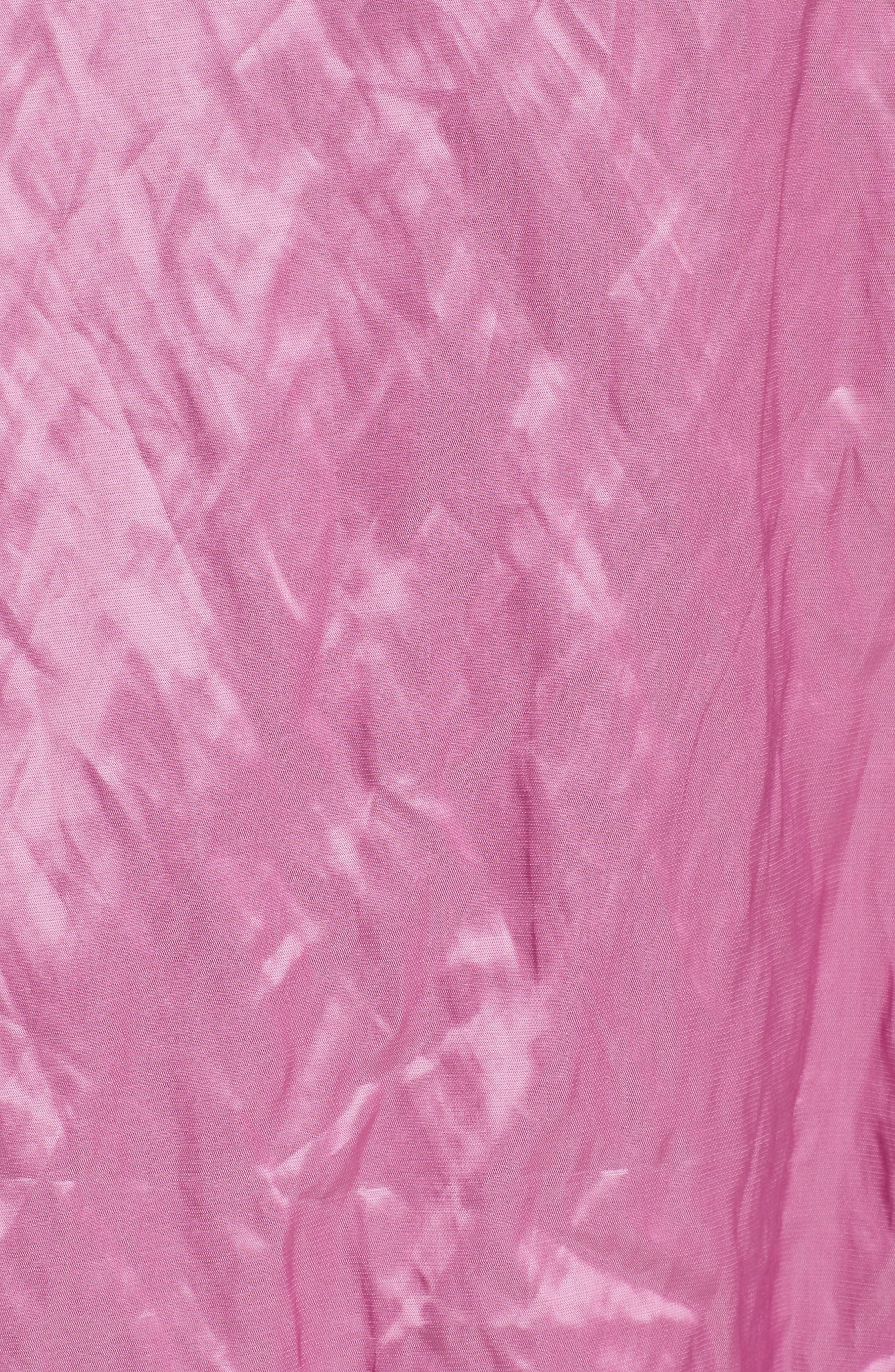 Marques'Almeida Asymmetrical Ruffle Taffeta Skirt,                             Alternate thumbnail 5, color,                             650