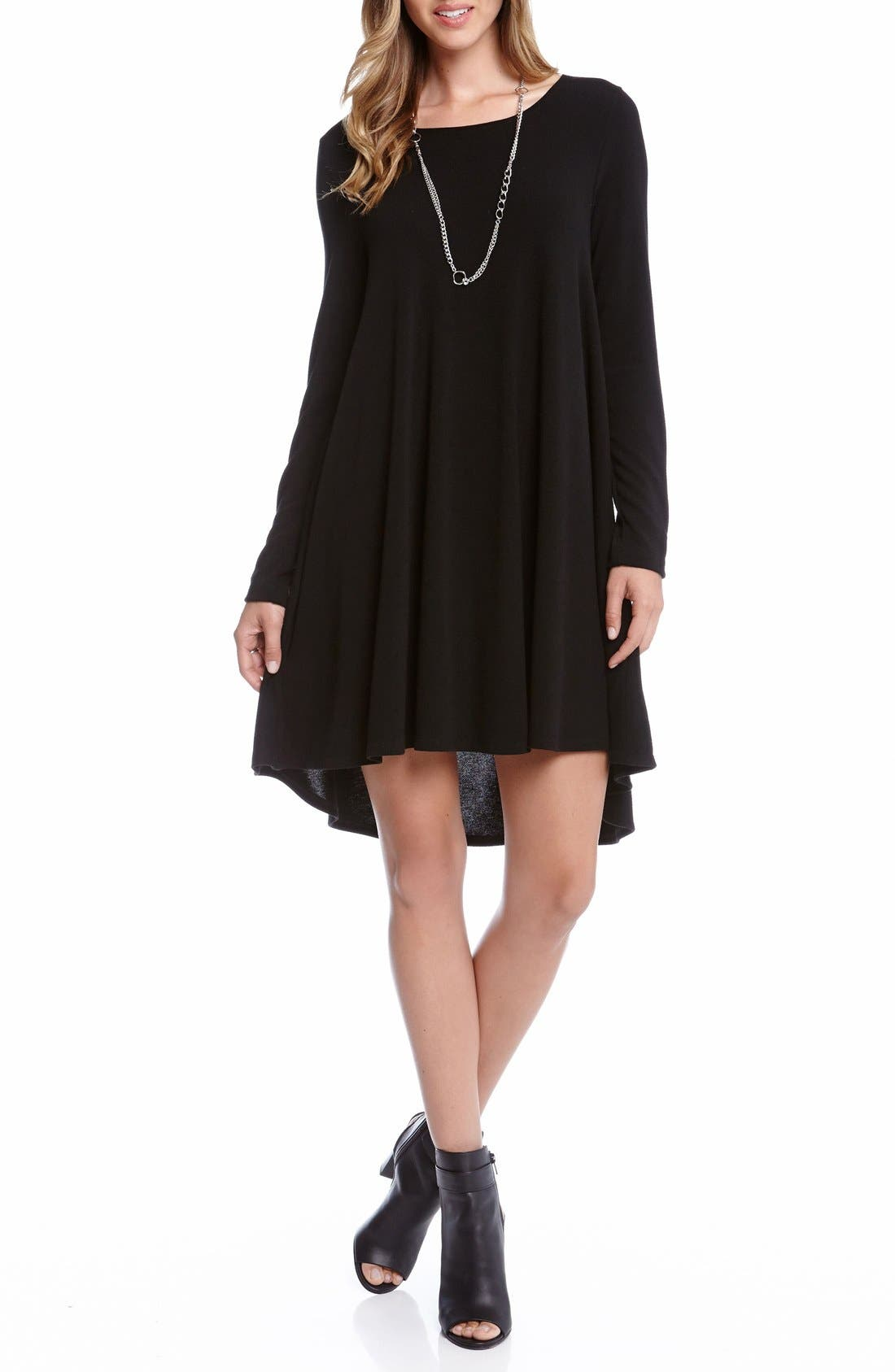 'Maggie' Trapeze Sweater Dress,                         Main,                         color, 001