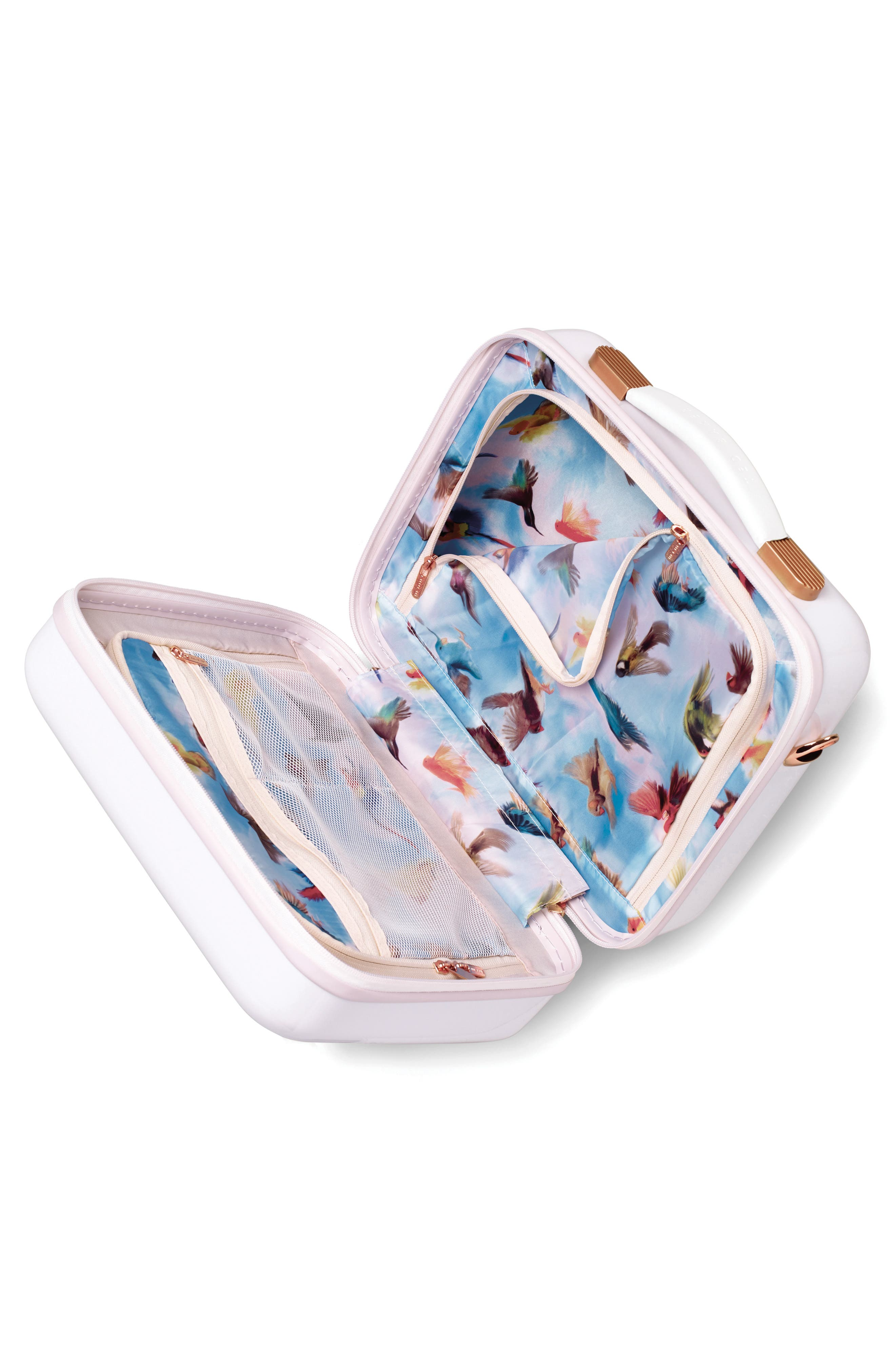 Blossoms Vanity Case,                             Alternate thumbnail 3, color,                             650