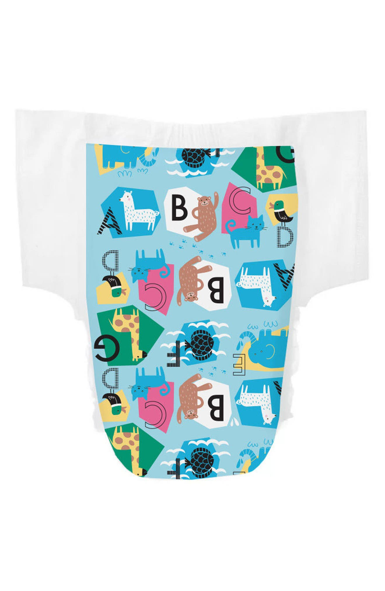 Animal ABCs Training Pants,                             Main thumbnail 1, color,                             BLUE
