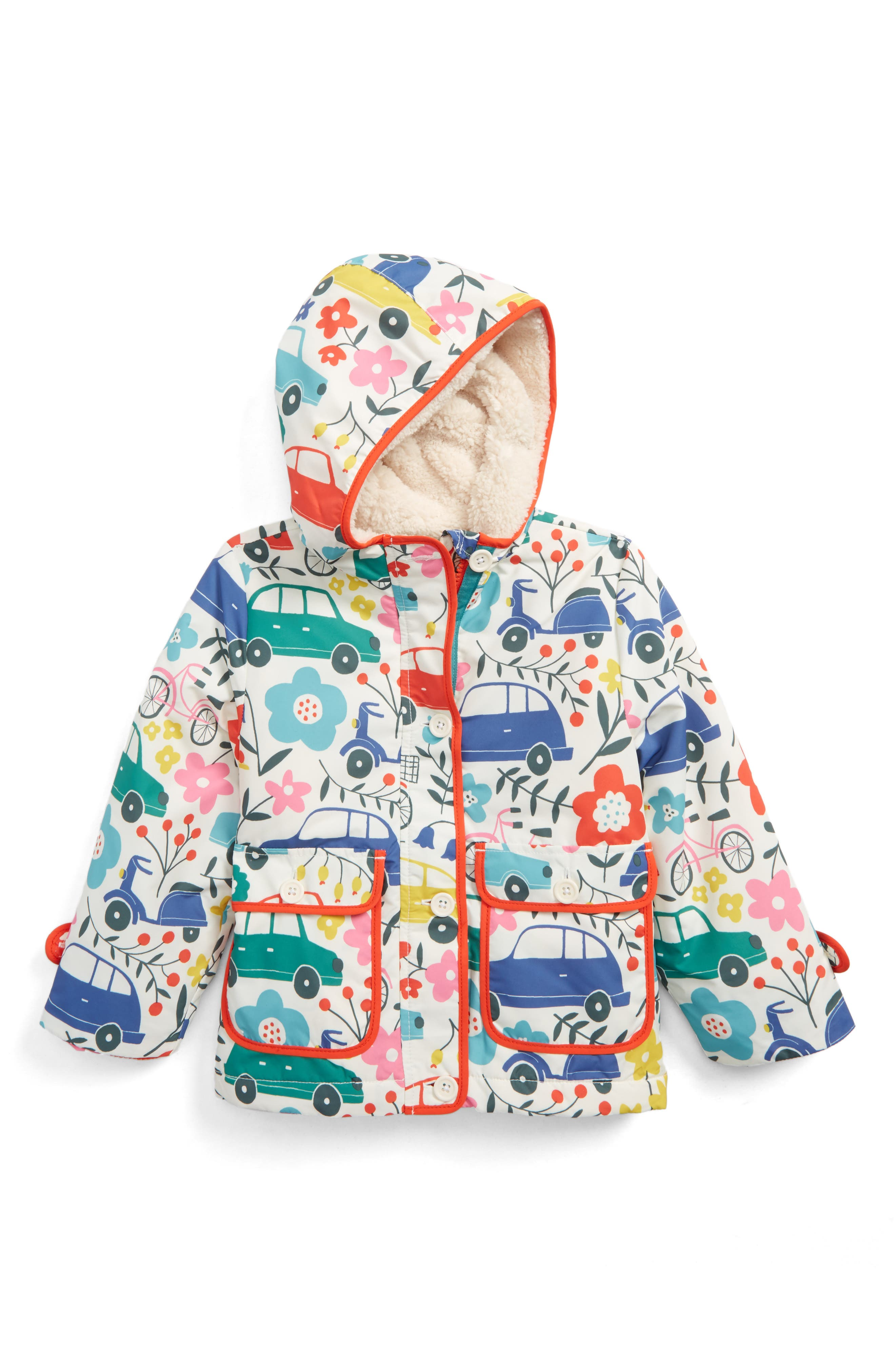 Shower-Resistant Hooded Anorak,                             Main thumbnail 1, color,                             902