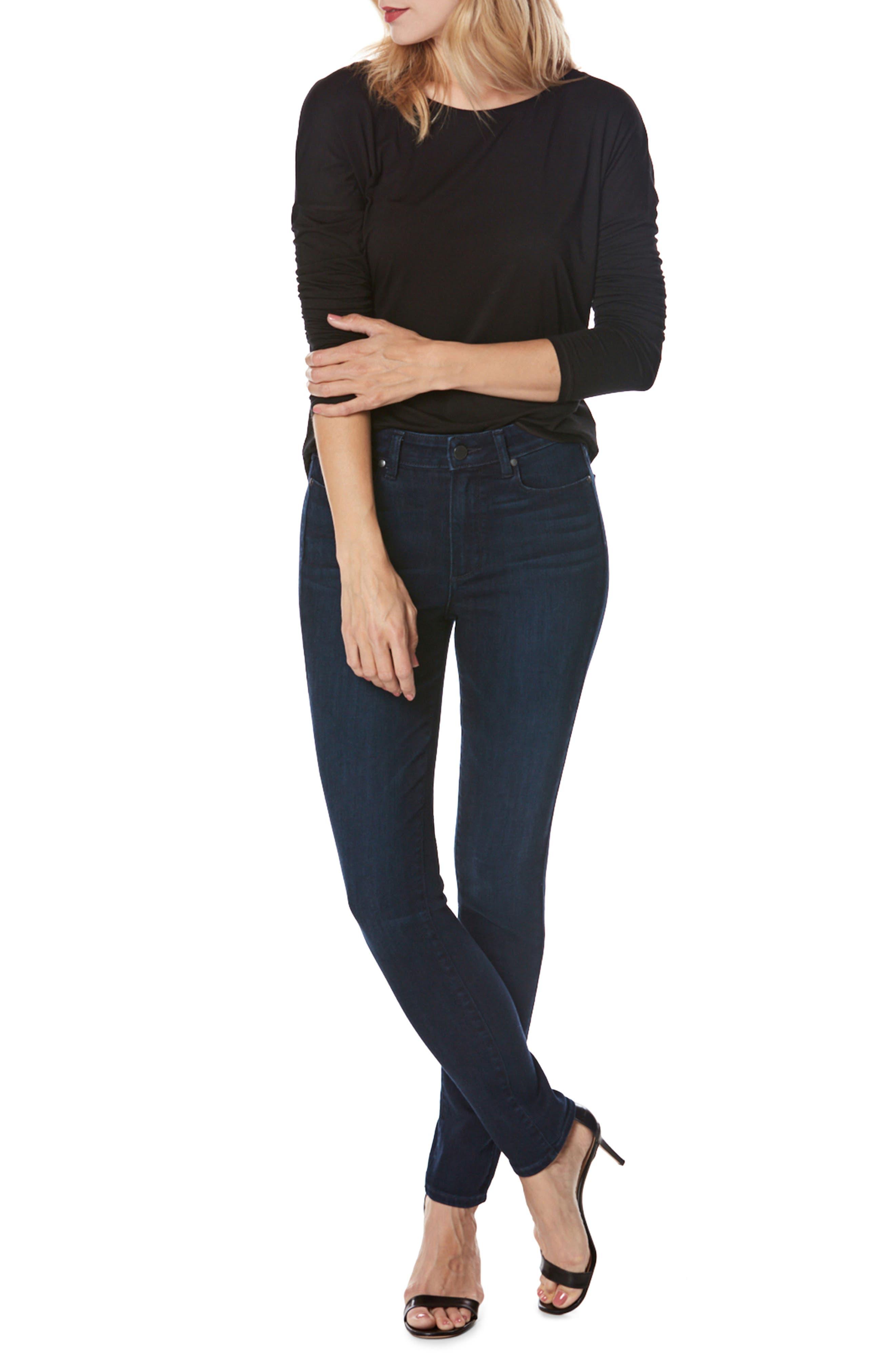 Transcend - Hoxton High Waist Ultra Skinny Jeans,                             Alternate thumbnail 3, color,