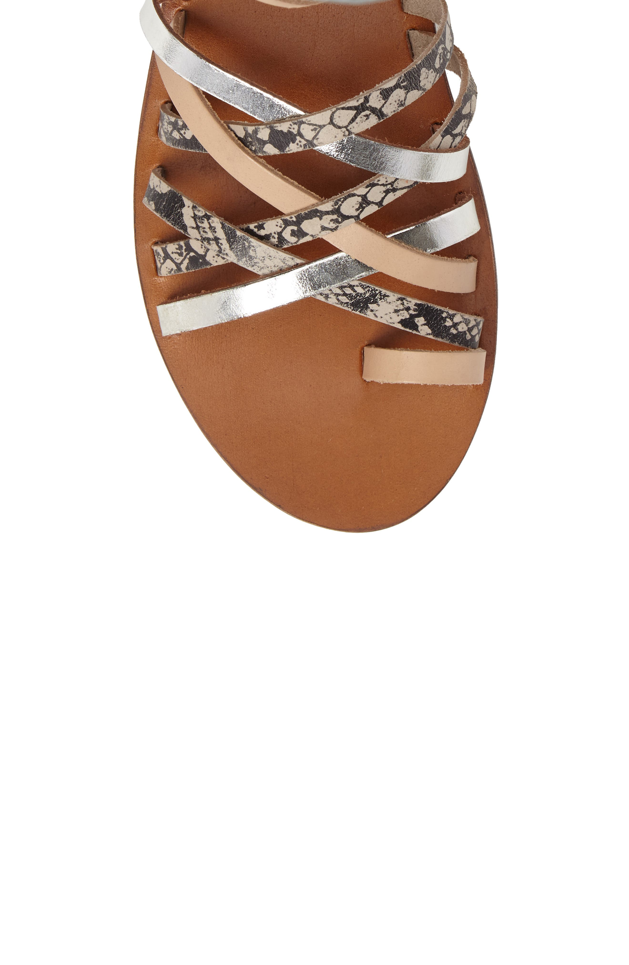 Fizzy Strappy Sandal,                             Alternate thumbnail 5, color,                             001