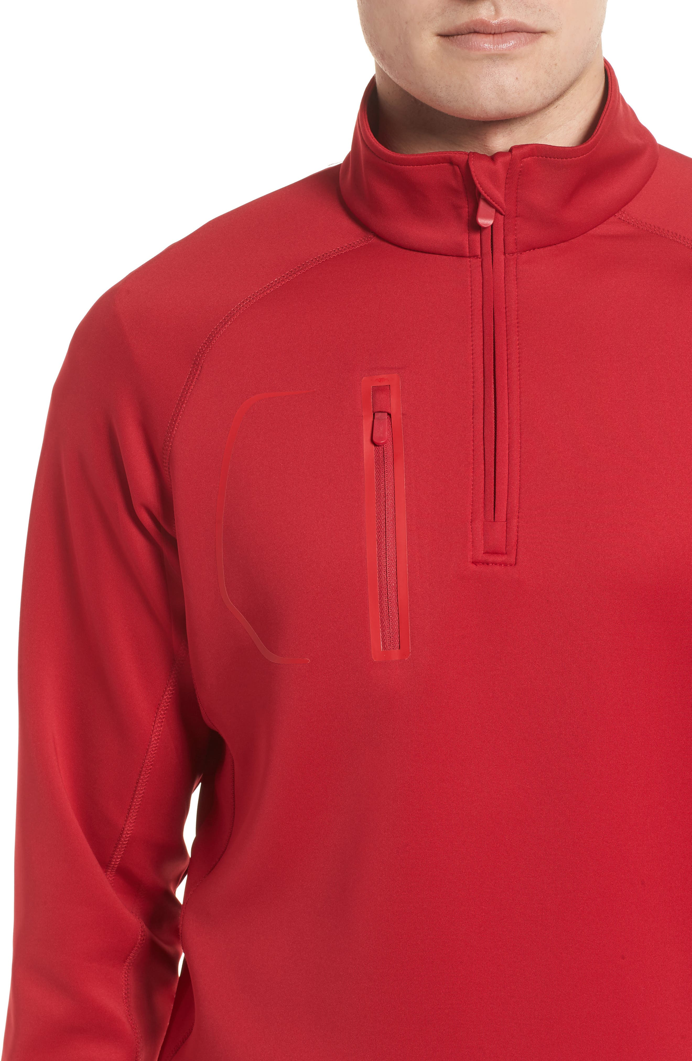 XH2O Crawford Stretch Quarter Zip Golf Pullover,                             Alternate thumbnail 41, color,