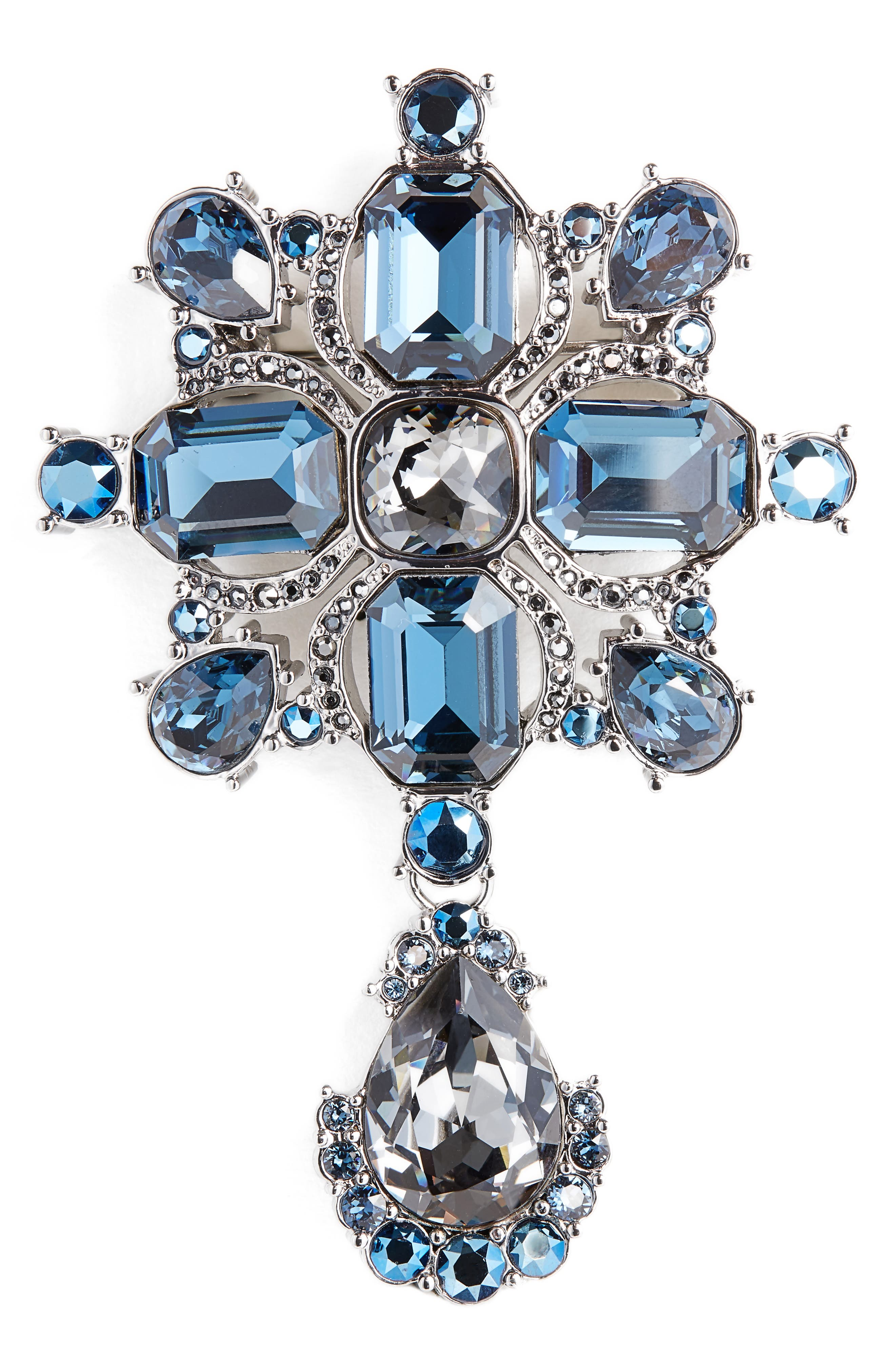 Swarovski Crystal Pin,                             Main thumbnail 1, color,                             040