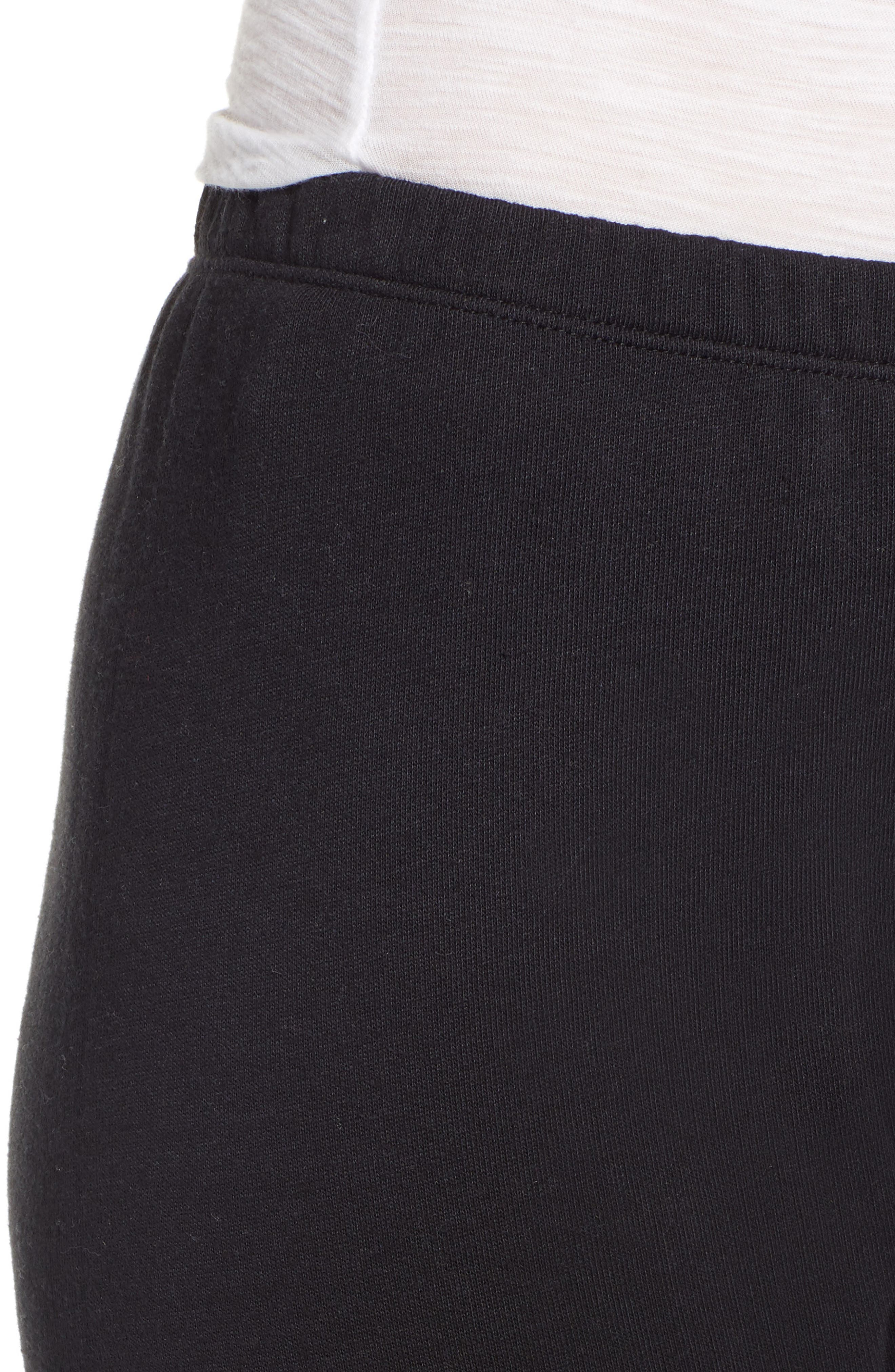 Knox Jogger Pants,                             Alternate thumbnail 4, color,                             JET BLACK