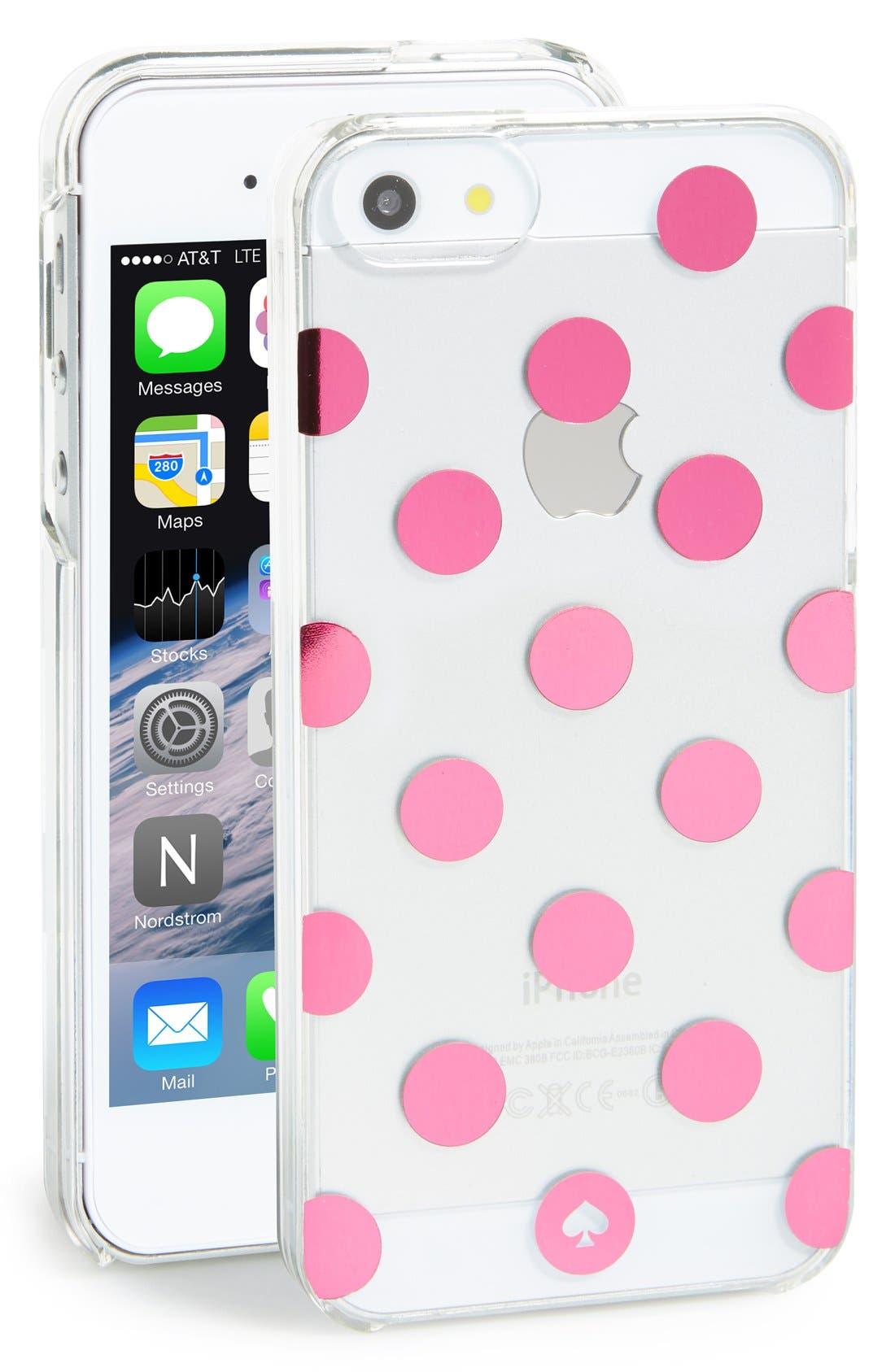 'le pavillion' iPhone 5 & 5s case,                             Main thumbnail 1, color,                             650