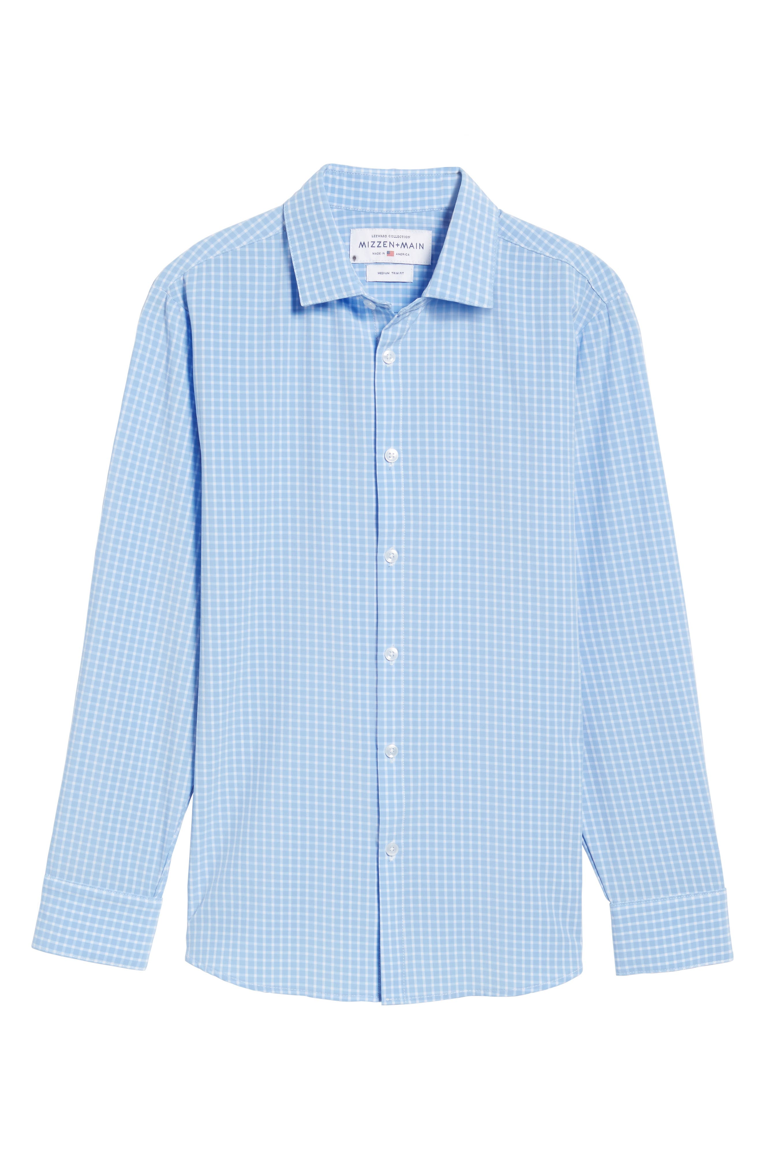 Carter Windowpane Check Sport Shirt,                             Alternate thumbnail 6, color,                             400