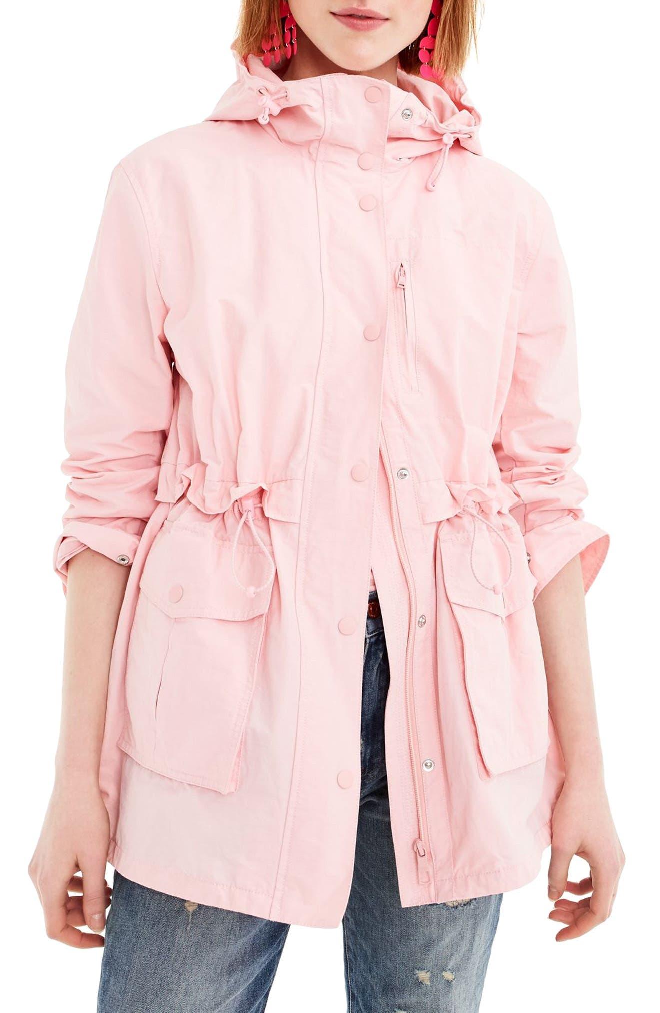 Perfect Raincoat,                         Main,                         color, PINK BLUSH