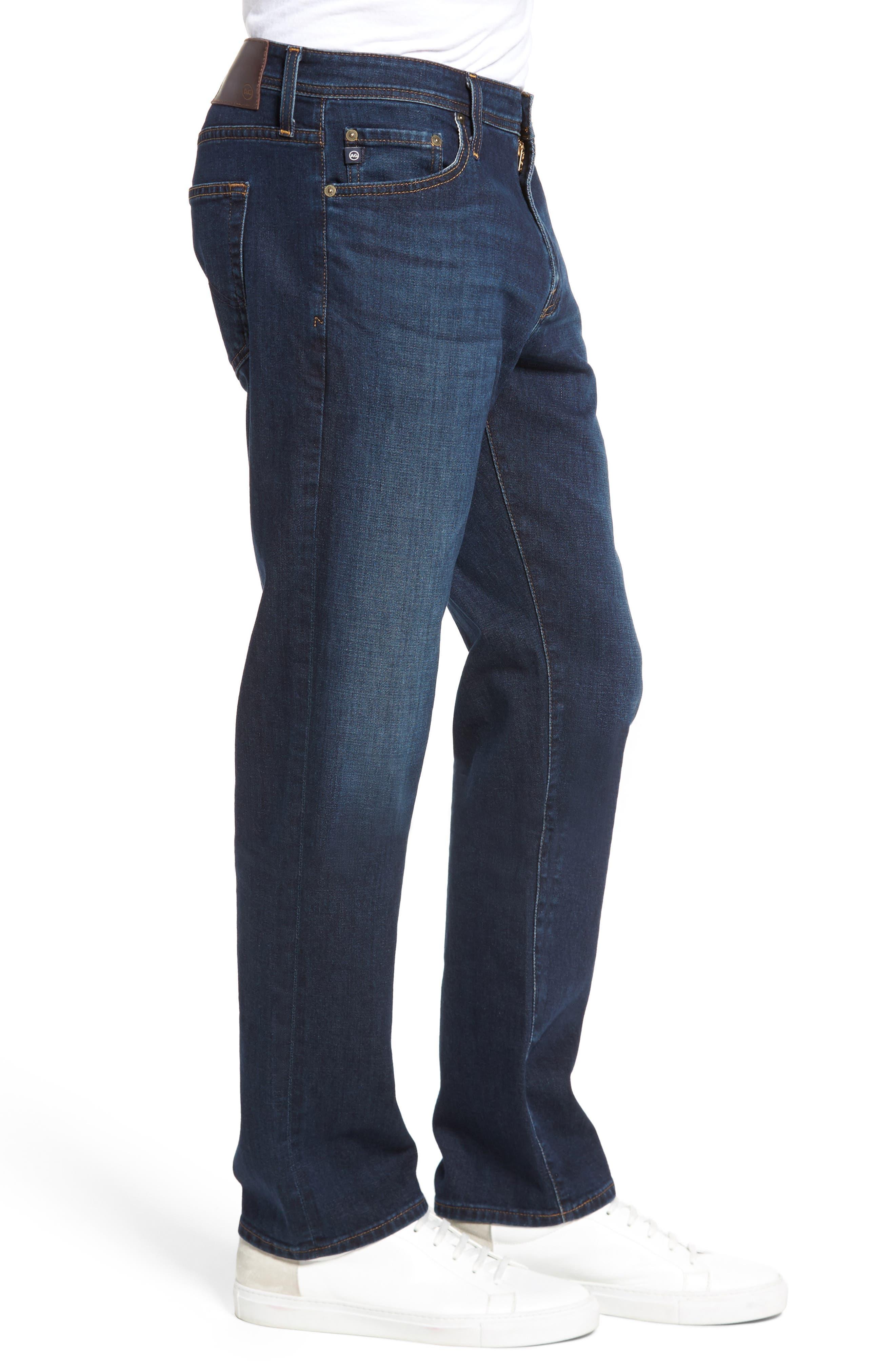 Everett Slim Straight Fit Jeans,                             Alternate thumbnail 3, color,                             WITNESS