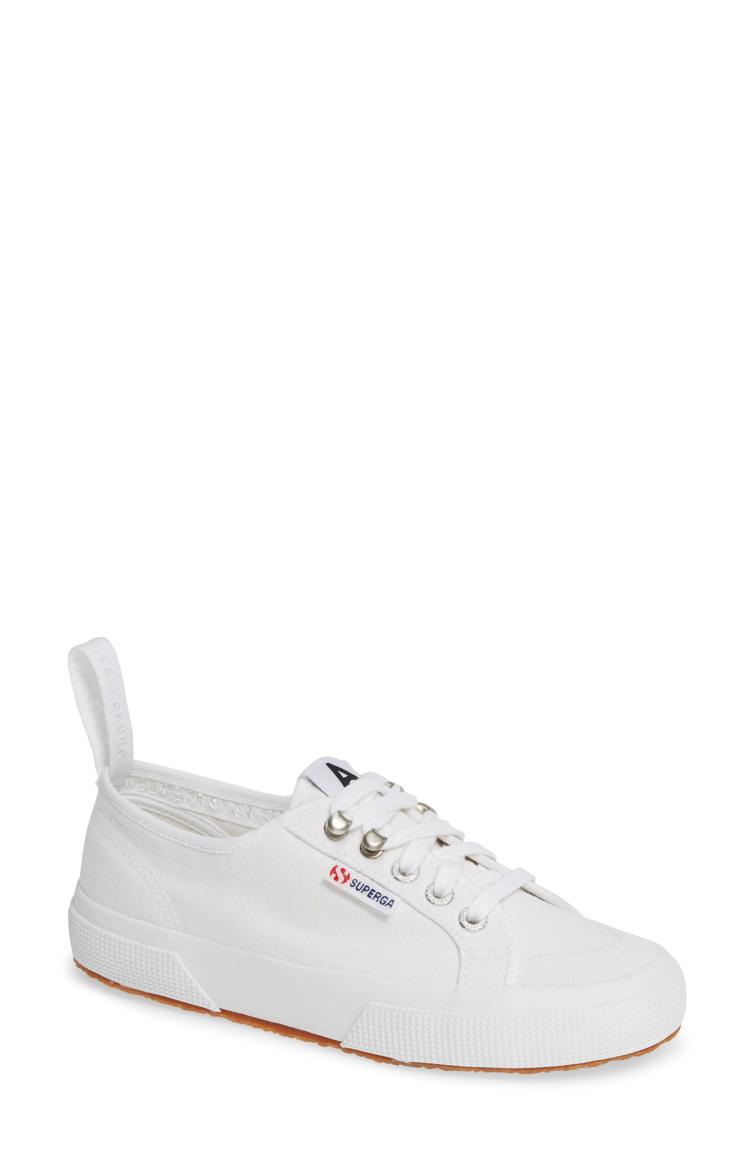 x Alexa Chung 2294 Cothookw Low Top Sneaker,                             Main thumbnail 1, color,                             WHITE