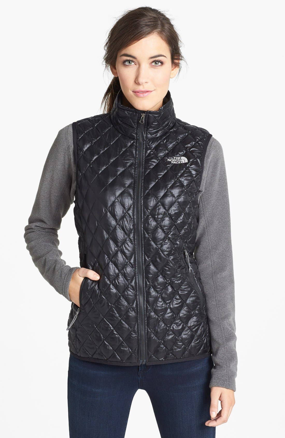 'ThermoBall<sup>™</sup>' PrimaLoft<sup>®</sup> Vest,                             Main thumbnail 1, color,                             001