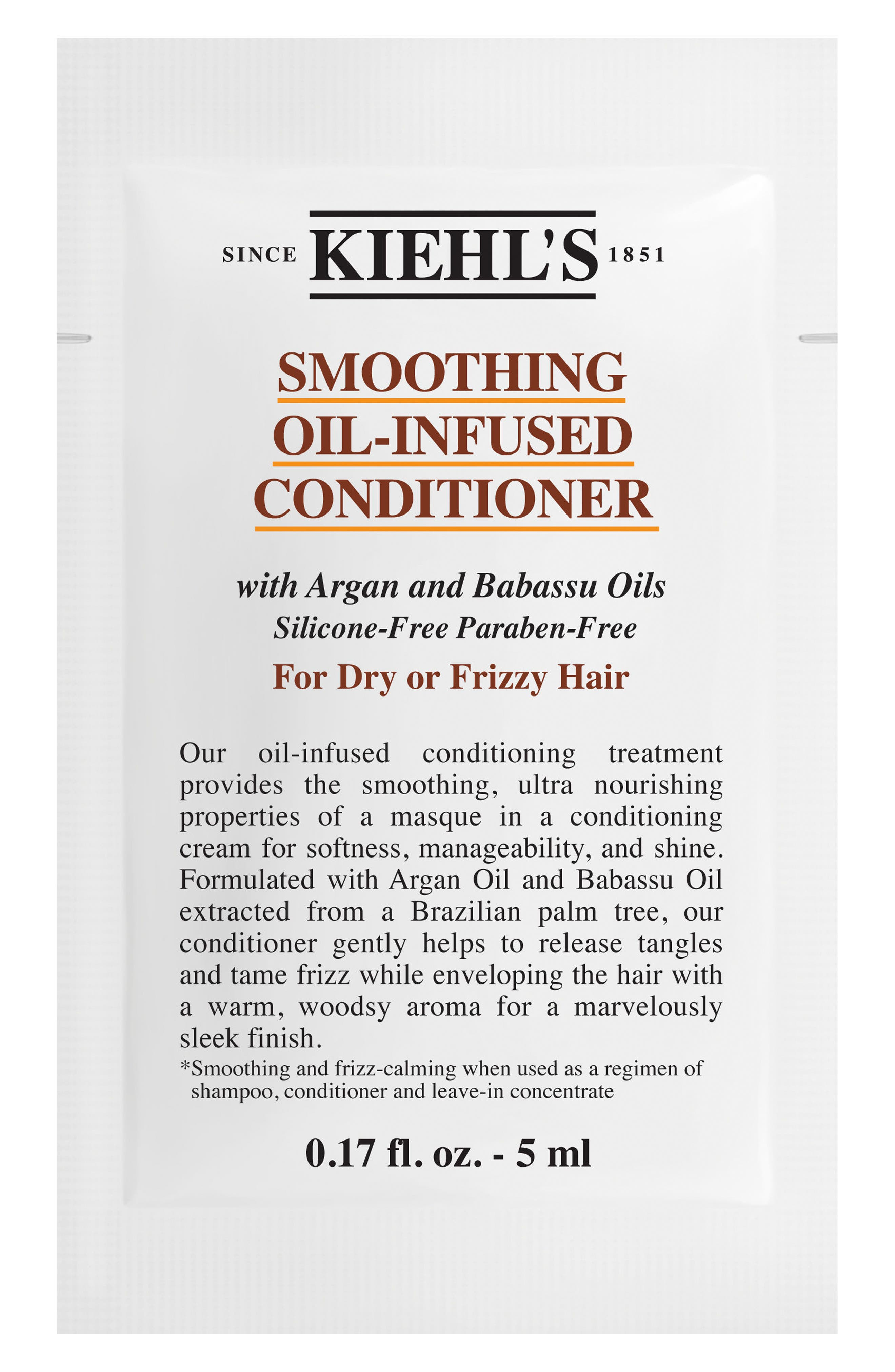Smoothing Oil-Infused Conditioner,                             Alternate thumbnail 2, color,                             NO COLOR