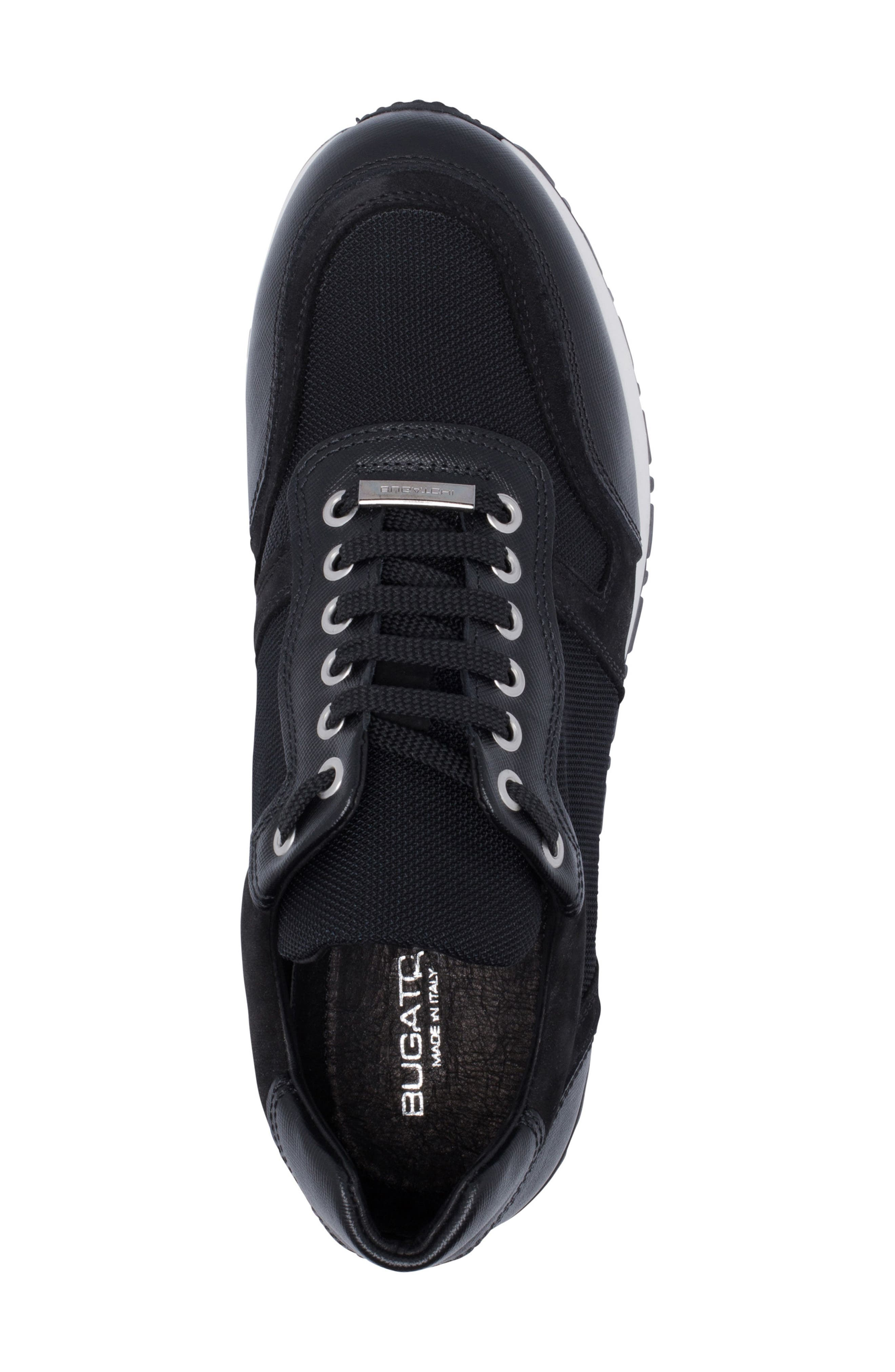 Modena Sneaker,                             Alternate thumbnail 5, color,                             NERO BLACK