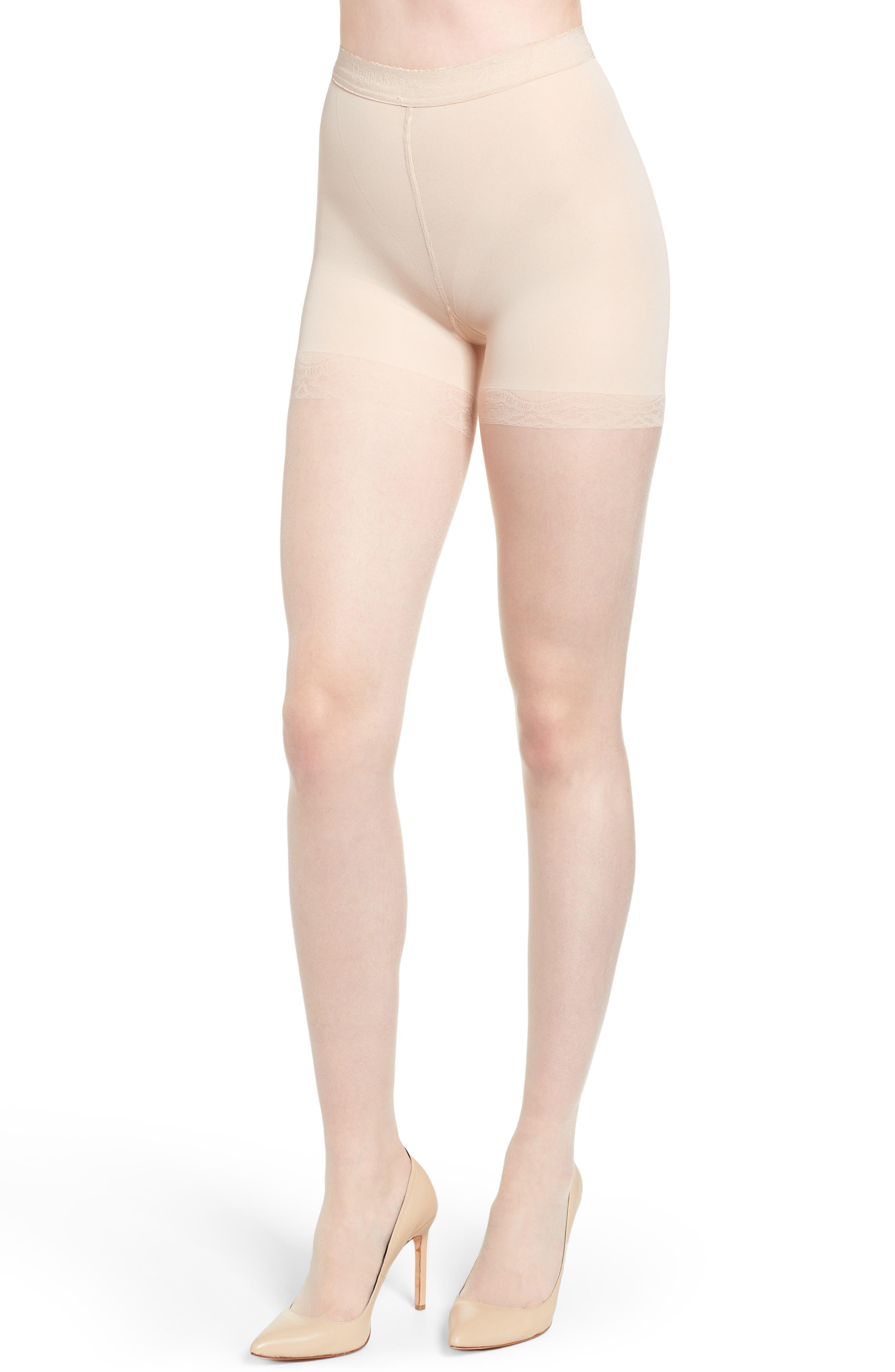 Donna Karan The Nudes Pantyhose,                             Alternate thumbnail 2, color,                             A01