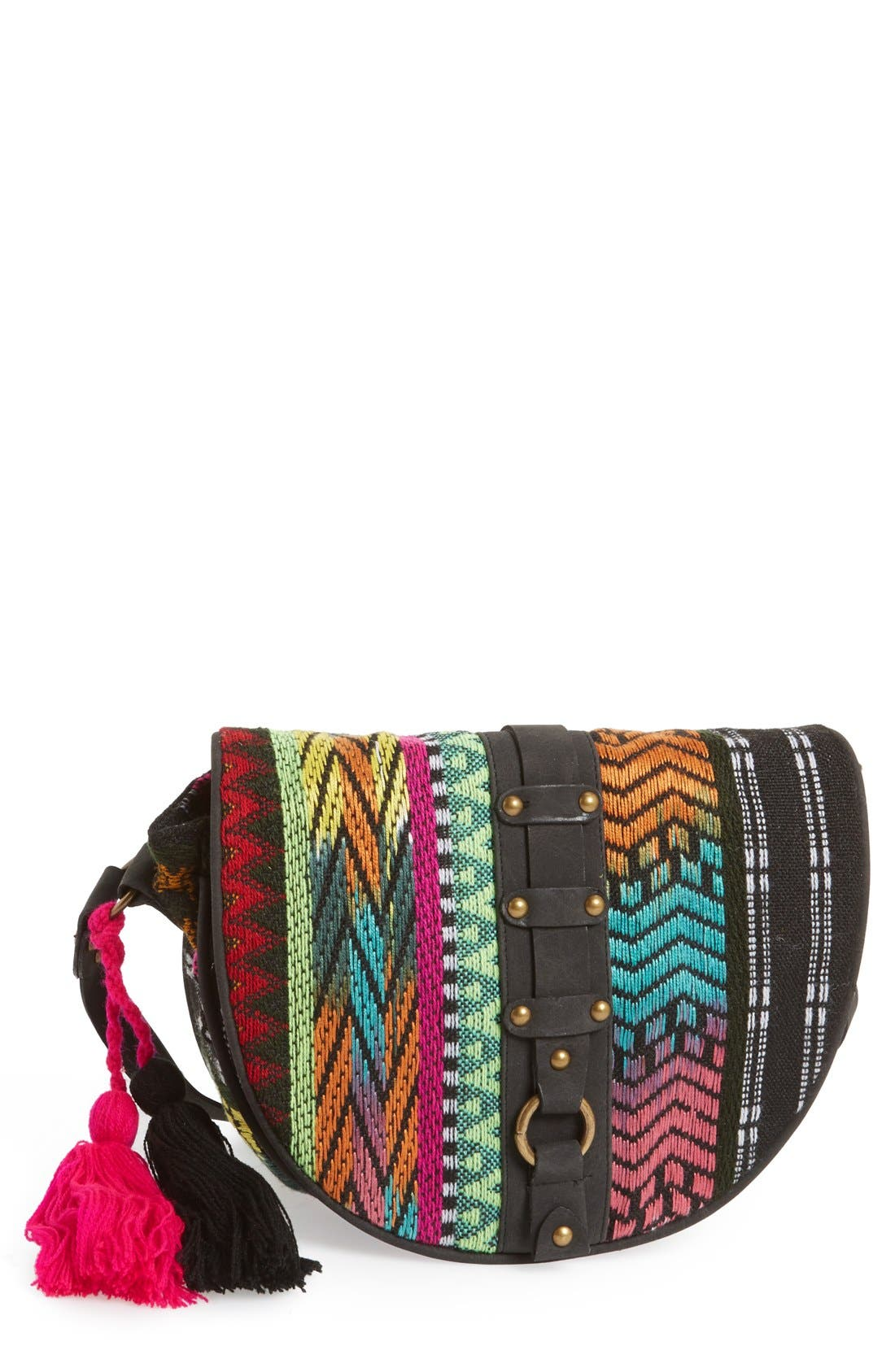 BIG BUDDHA,                             'Jaztec' Crossbody,                             Main thumbnail 1, color,                             001