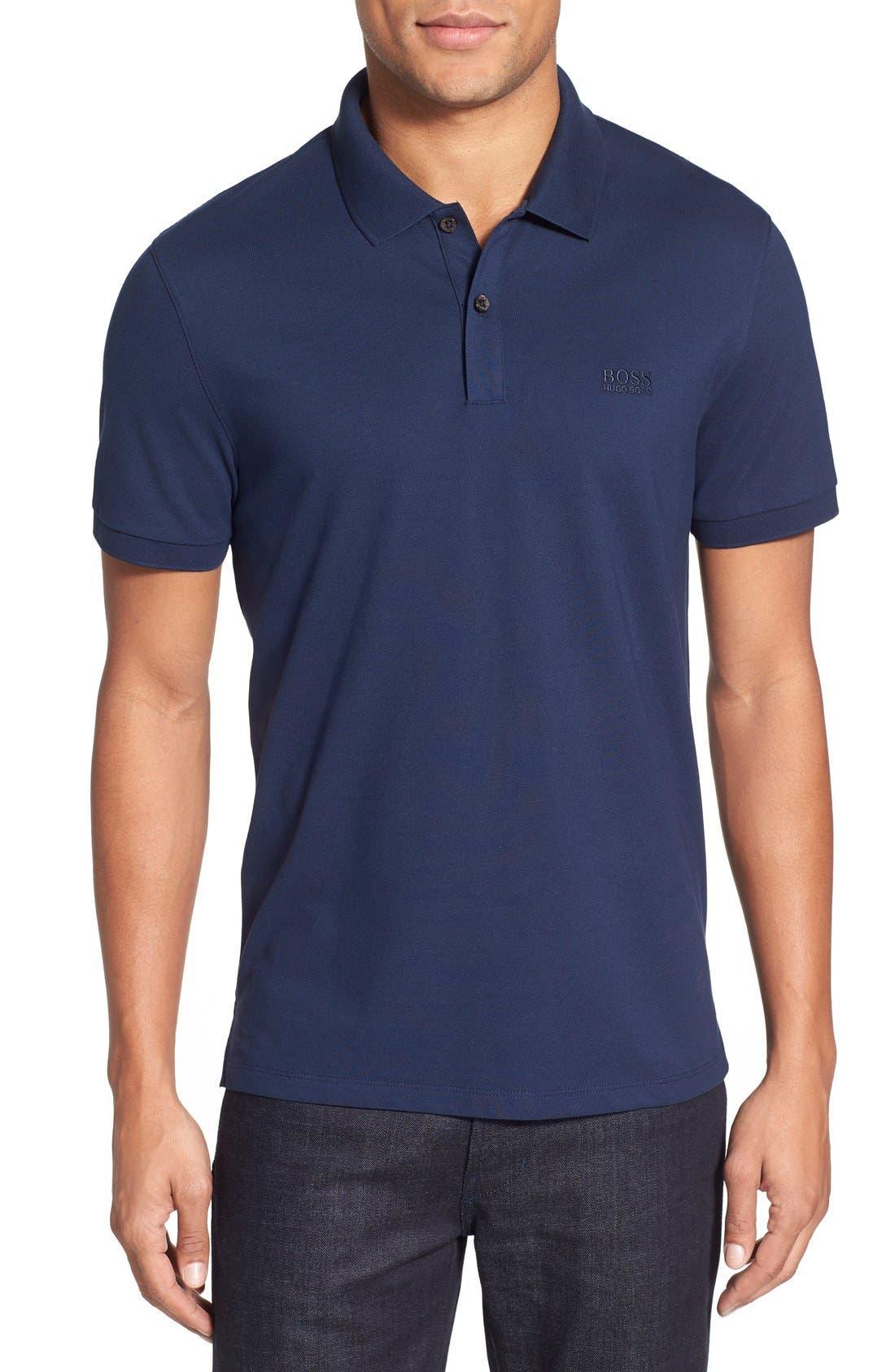 'Pallas' Regular Fit Logo Embroidered Polo Shirt,                             Main thumbnail 9, color,