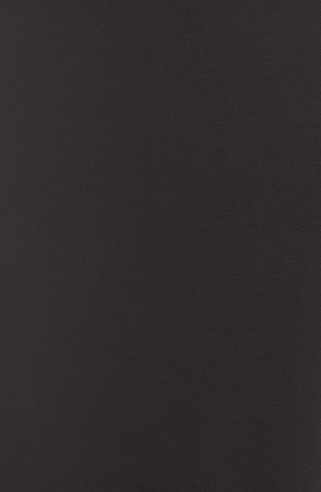 'Viven' Lace & Jersey Sheath Dress,                             Alternate thumbnail 2, color,                             001