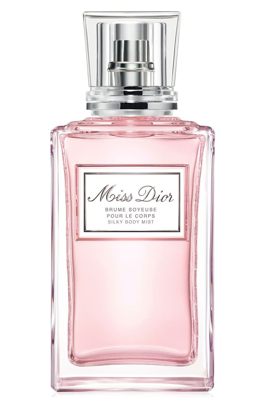 'Miss Dior' Silky Body Mist,                             Main thumbnail 1, color,                             NO COLOR