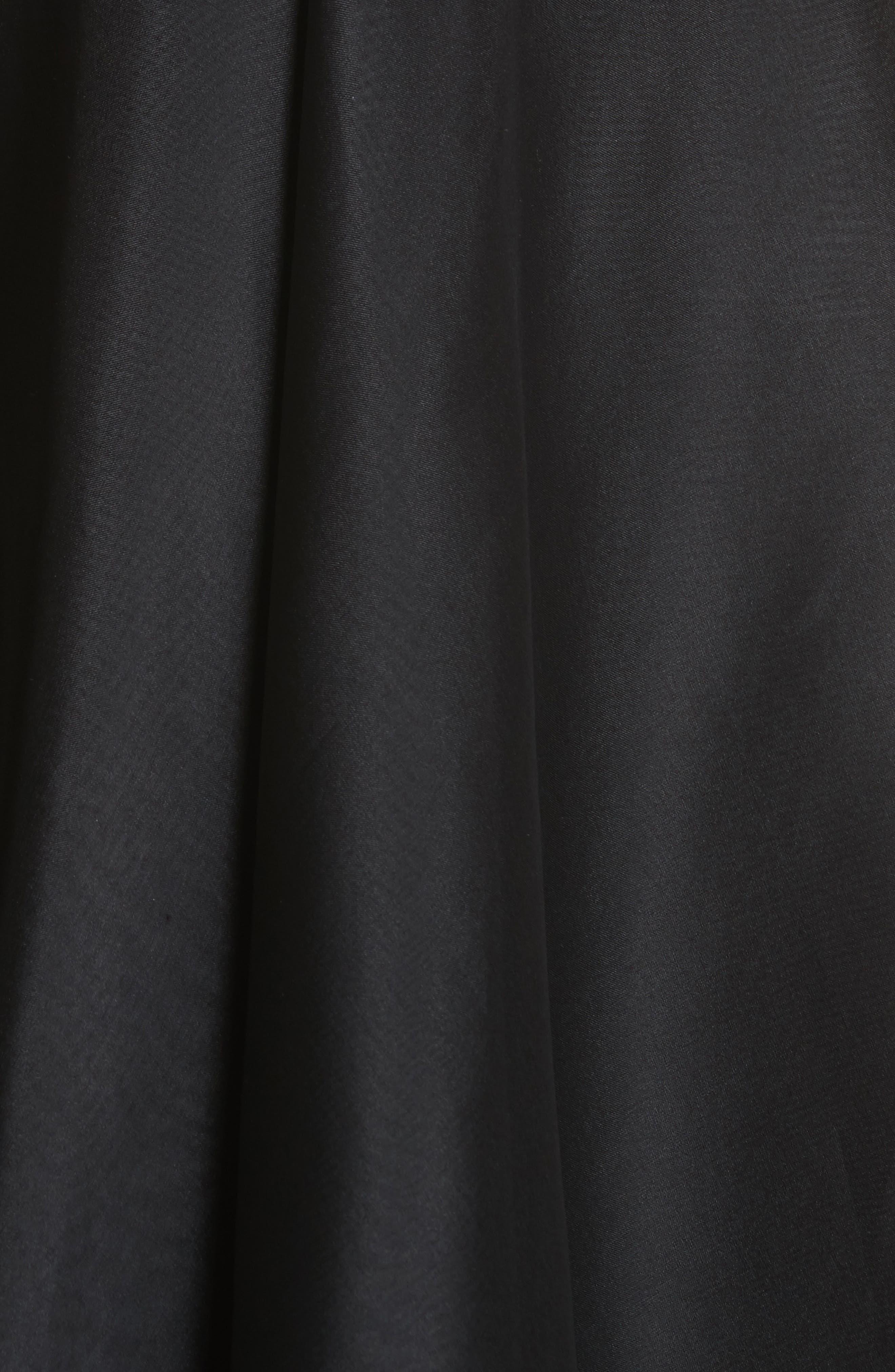 Layered Organza A-Line Skirt,                             Alternate thumbnail 5, color,                             001