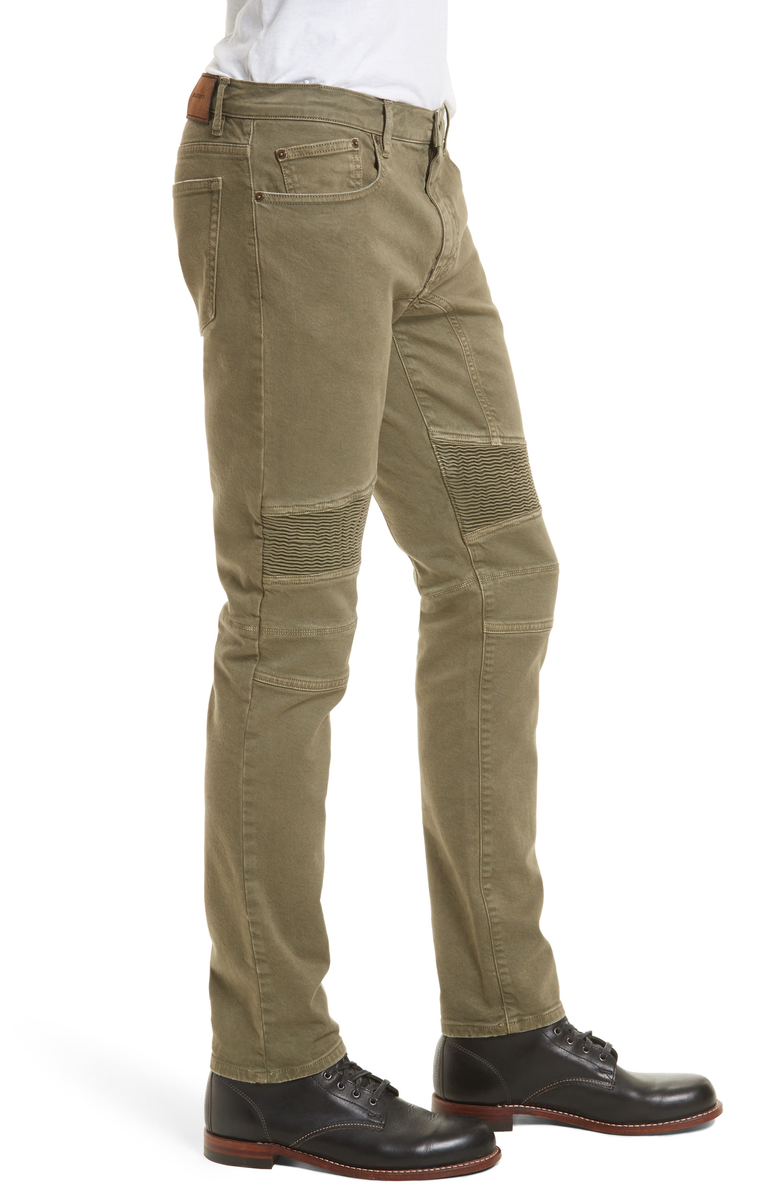 Eastham Tapered Moto Jeans,                             Alternate thumbnail 3, color,                             251