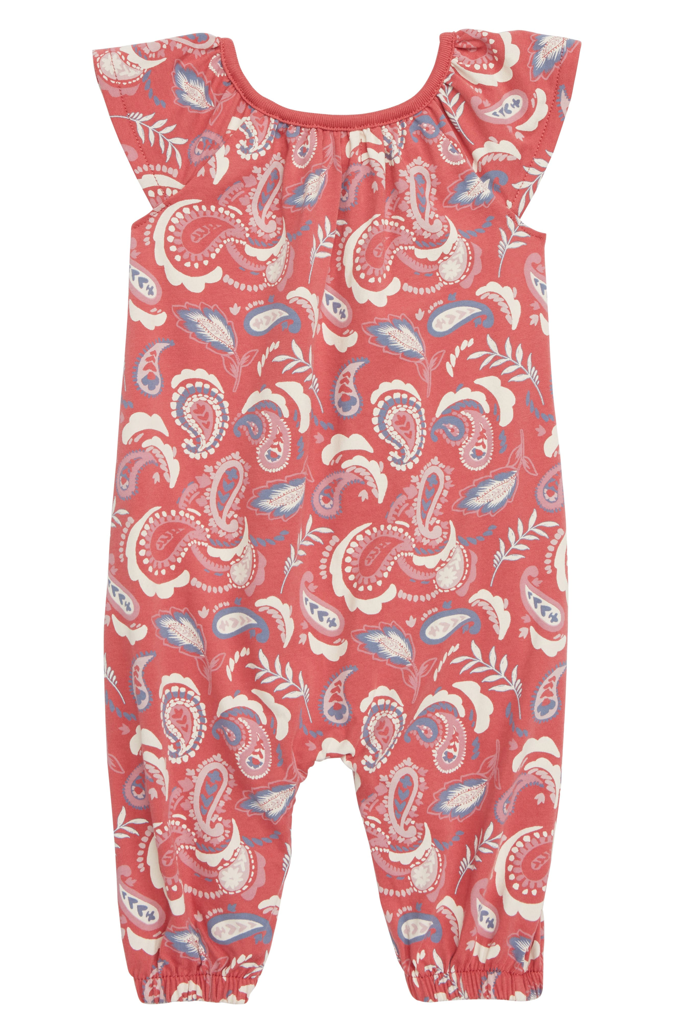 Peek Paisley Romper,                             Main thumbnail 1, color,                             600