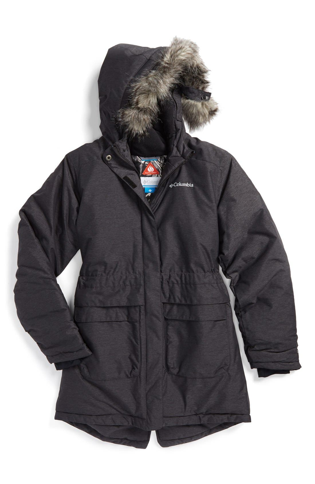 'Nordic Strider<sup>™</sup>' Waterproof Omni-Heat<sup>™</sup> Winter Jacket, Main, color, 010