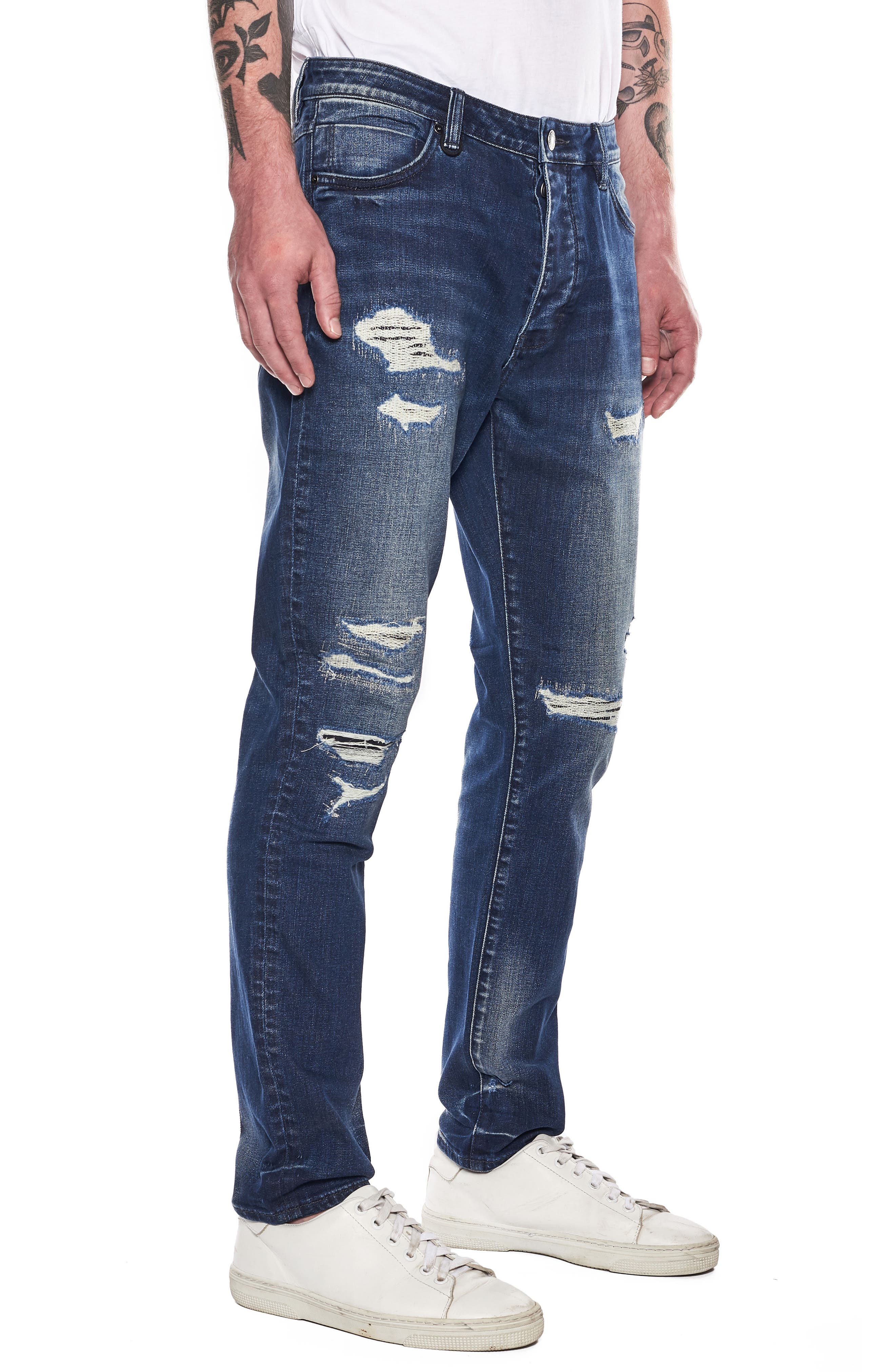 NEUW,                             Ray Slouchy Slim Fit Jeans,                             Alternate thumbnail 3, color,                             405
