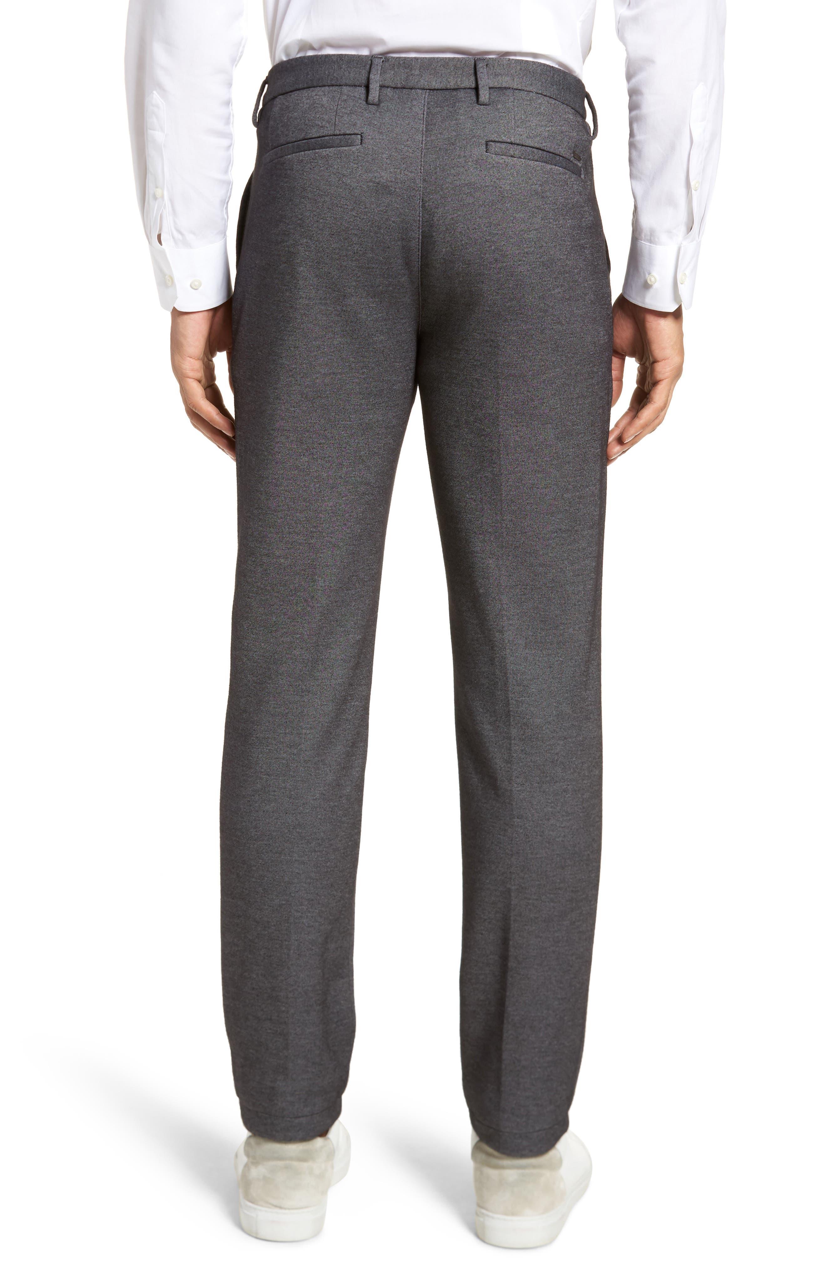 Kaito Melange Cotton Blend Pants,                             Alternate thumbnail 2, color,                             030