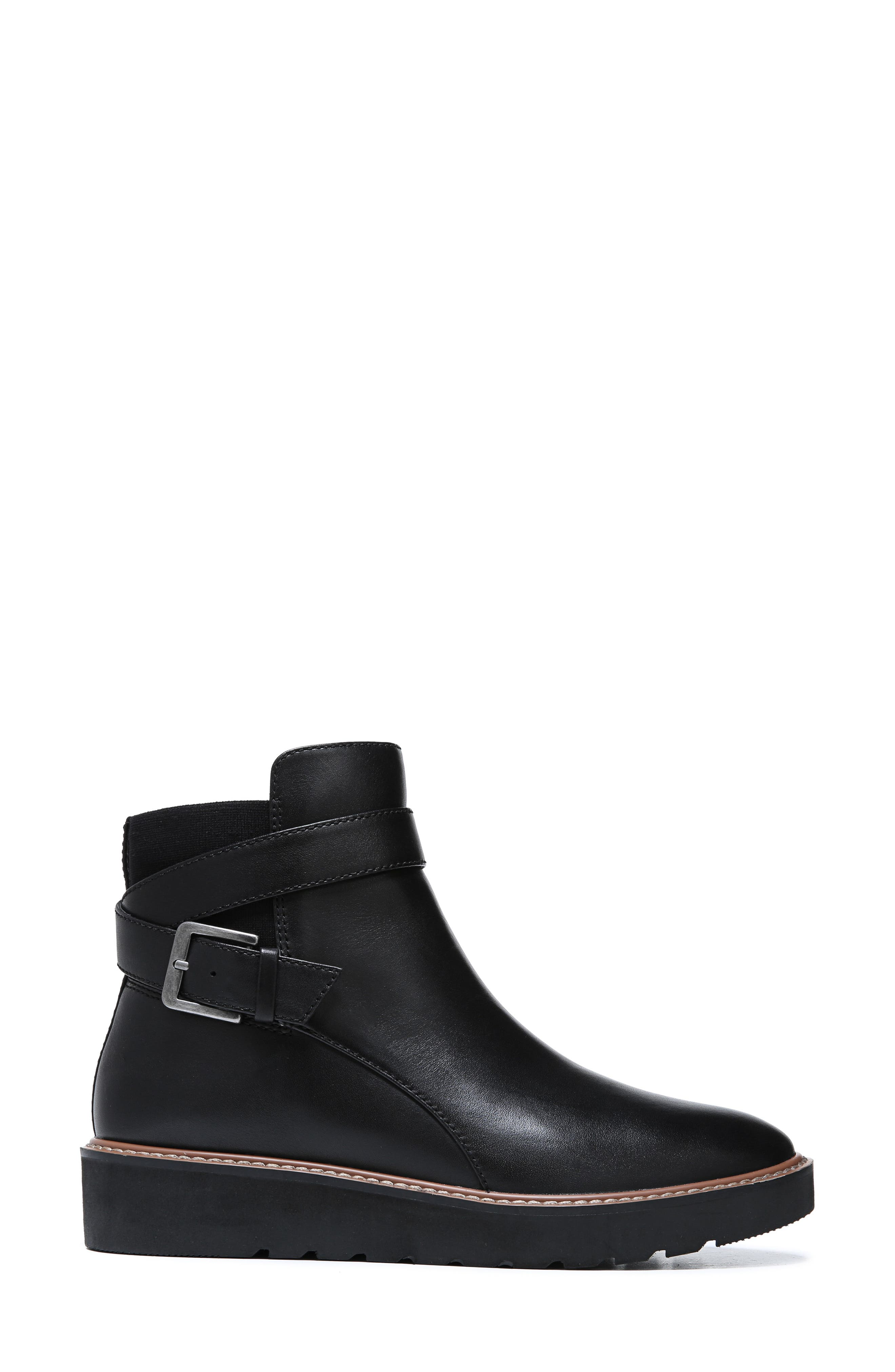 NATURALIZER,                             Aster Bootie,                             Alternate thumbnail 2, color,                             BLACK LEATHER