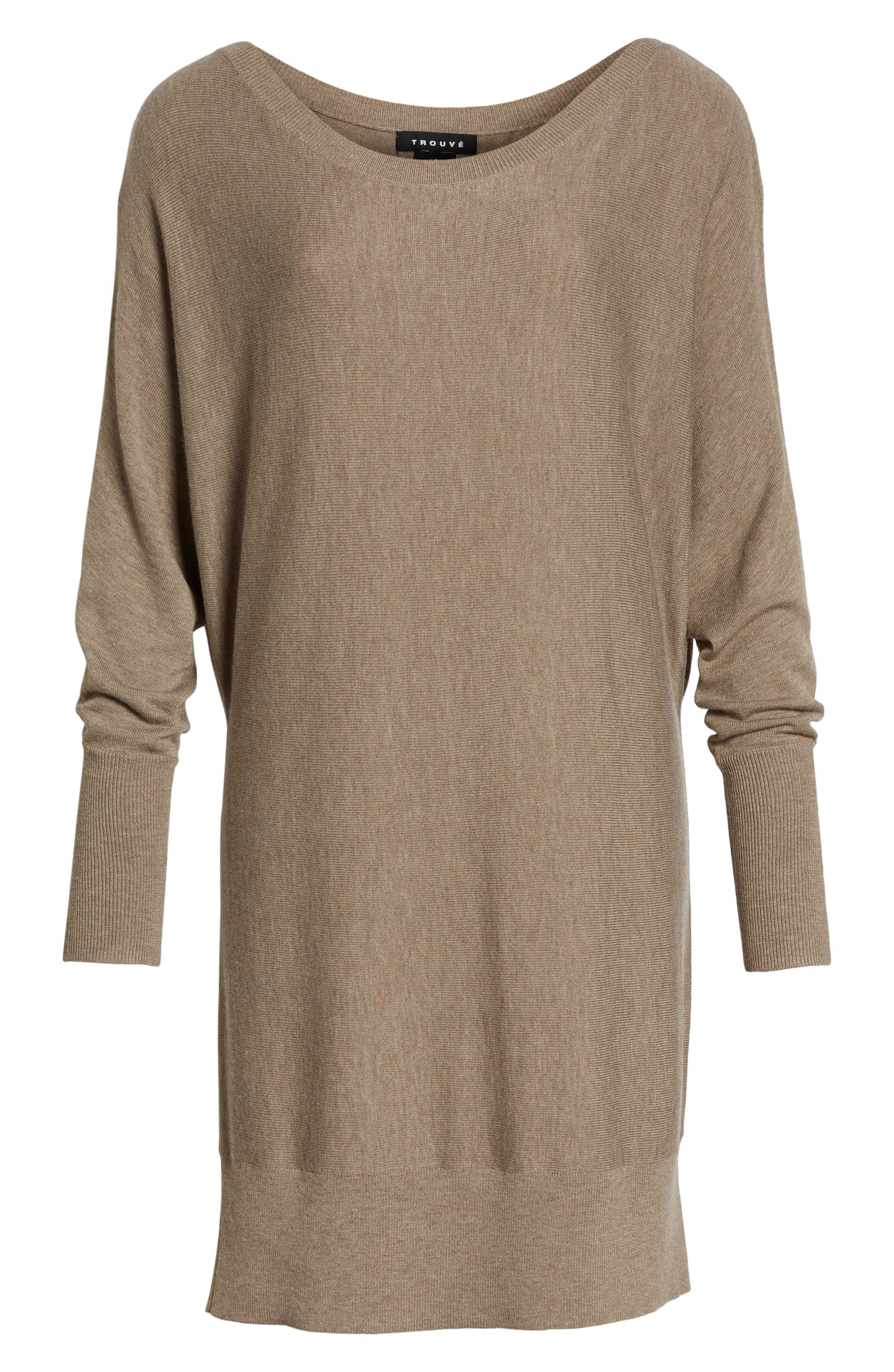 Off the Shoulder Sweater Tunic,                             Alternate thumbnail 34, color,
