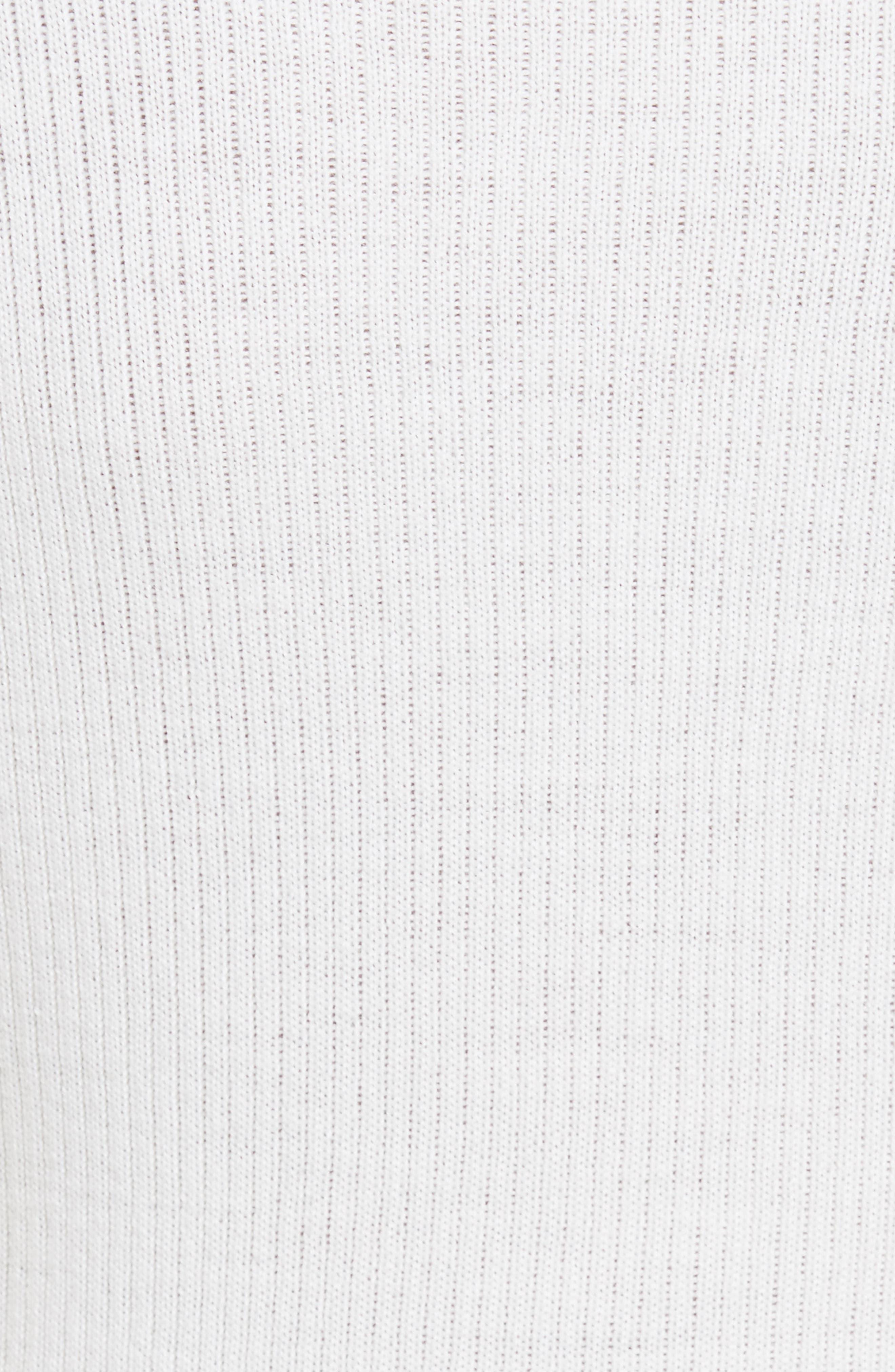 Metallic Knit Merino Wool Blend Sweater,                             Alternate thumbnail 5, color,                             199
