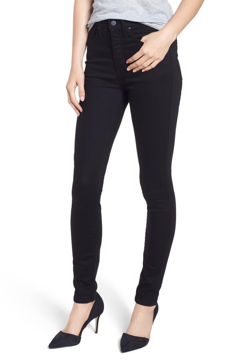 bd92455d1632c Caslon® Sierra High Waist Skinny Jeans (Regular   Petite)