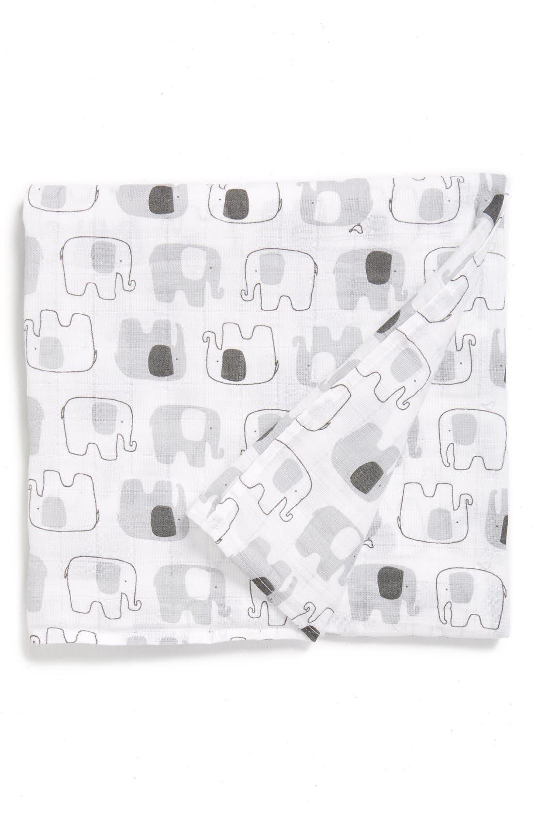 Cotton Swaddle Blanket,                             Main thumbnail 10, color,