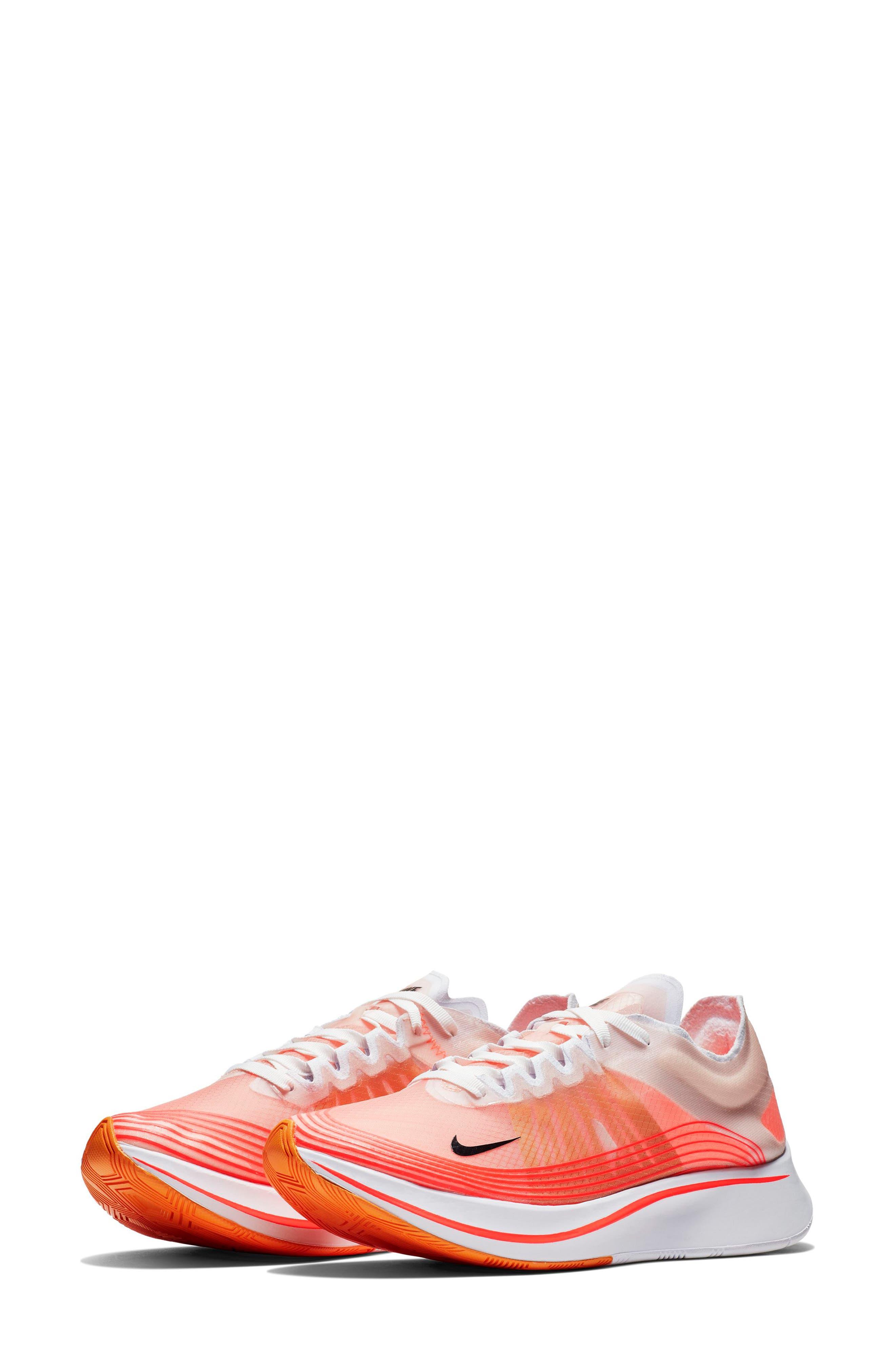 Zoom Fly SP Running Shoe,                             Main thumbnail 1, color,                             VARSITY RED/ BLACK/ WHITE