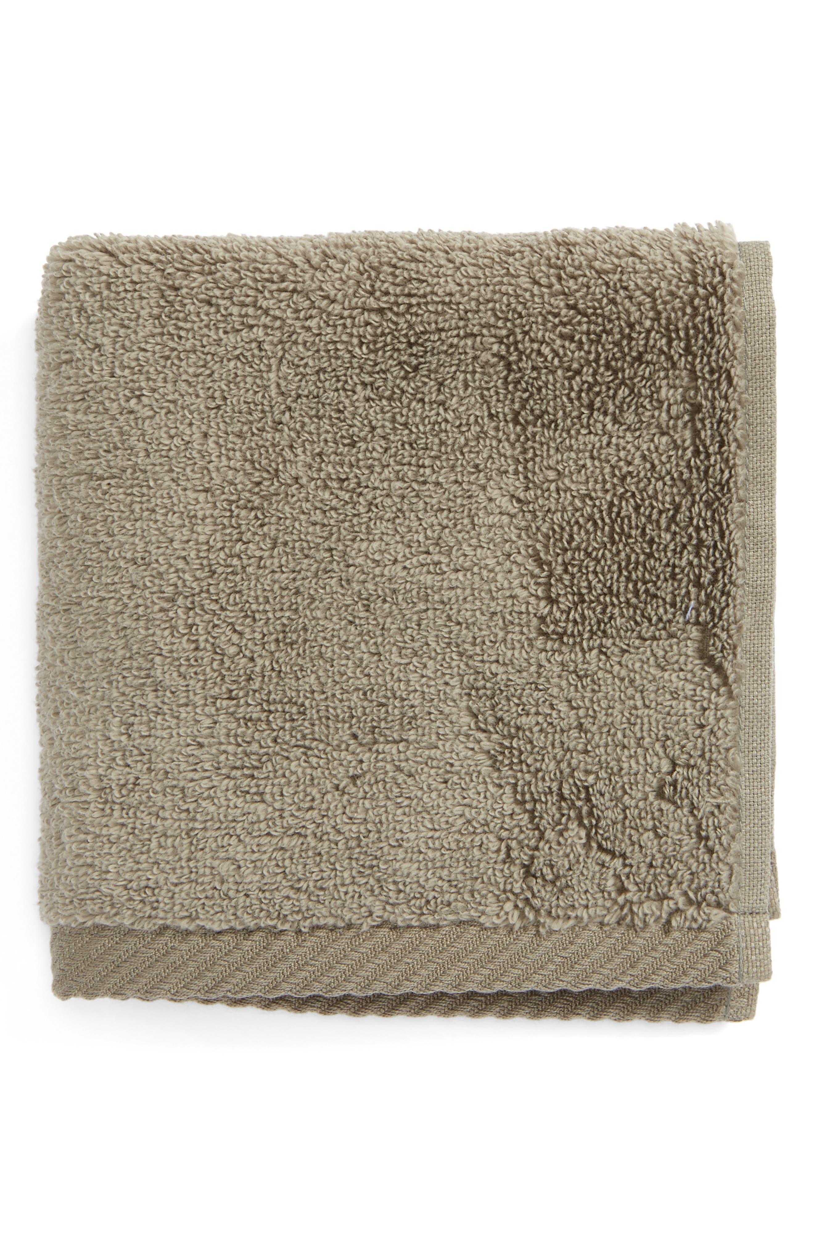 Milagro Washcloth,                         Main,                         color, STEEL