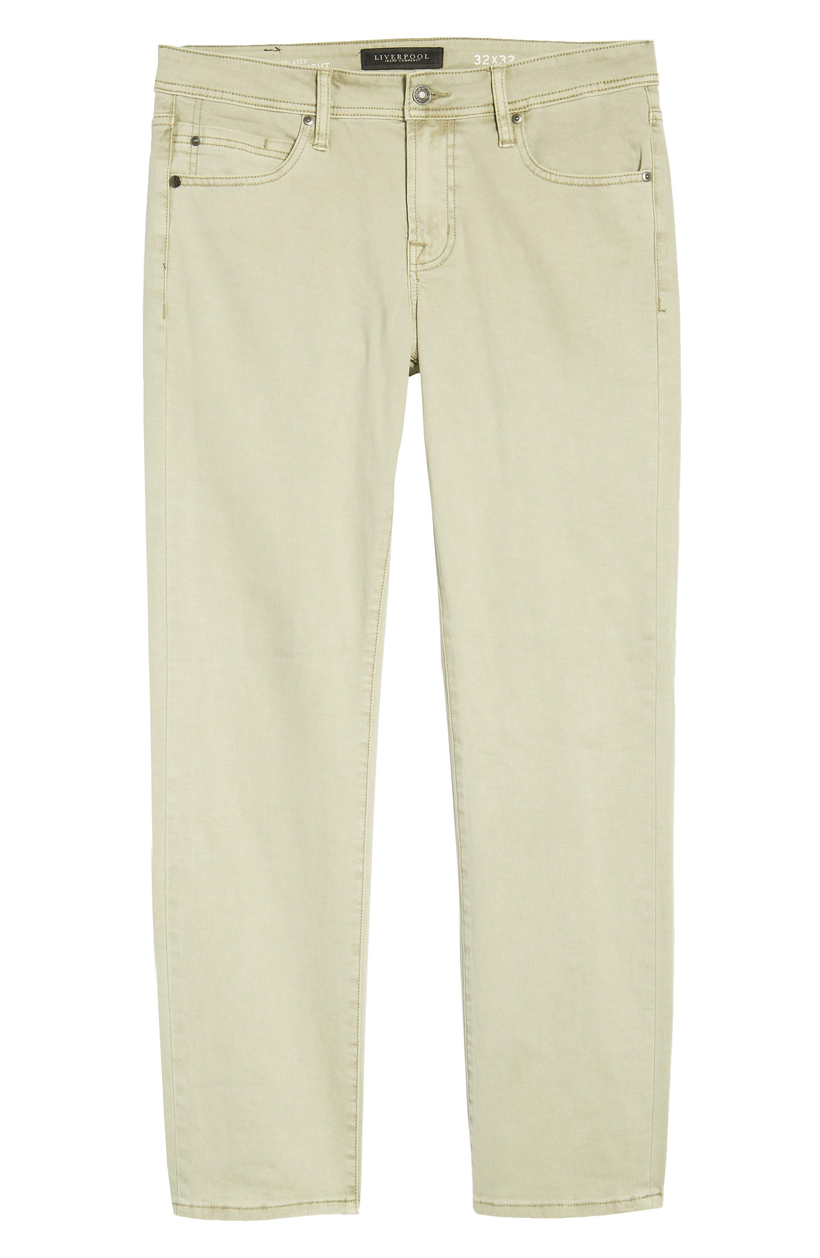 Jeans Co. Straight Leg Jeans,                             Alternate thumbnail 6, color,                             SANDSTROM