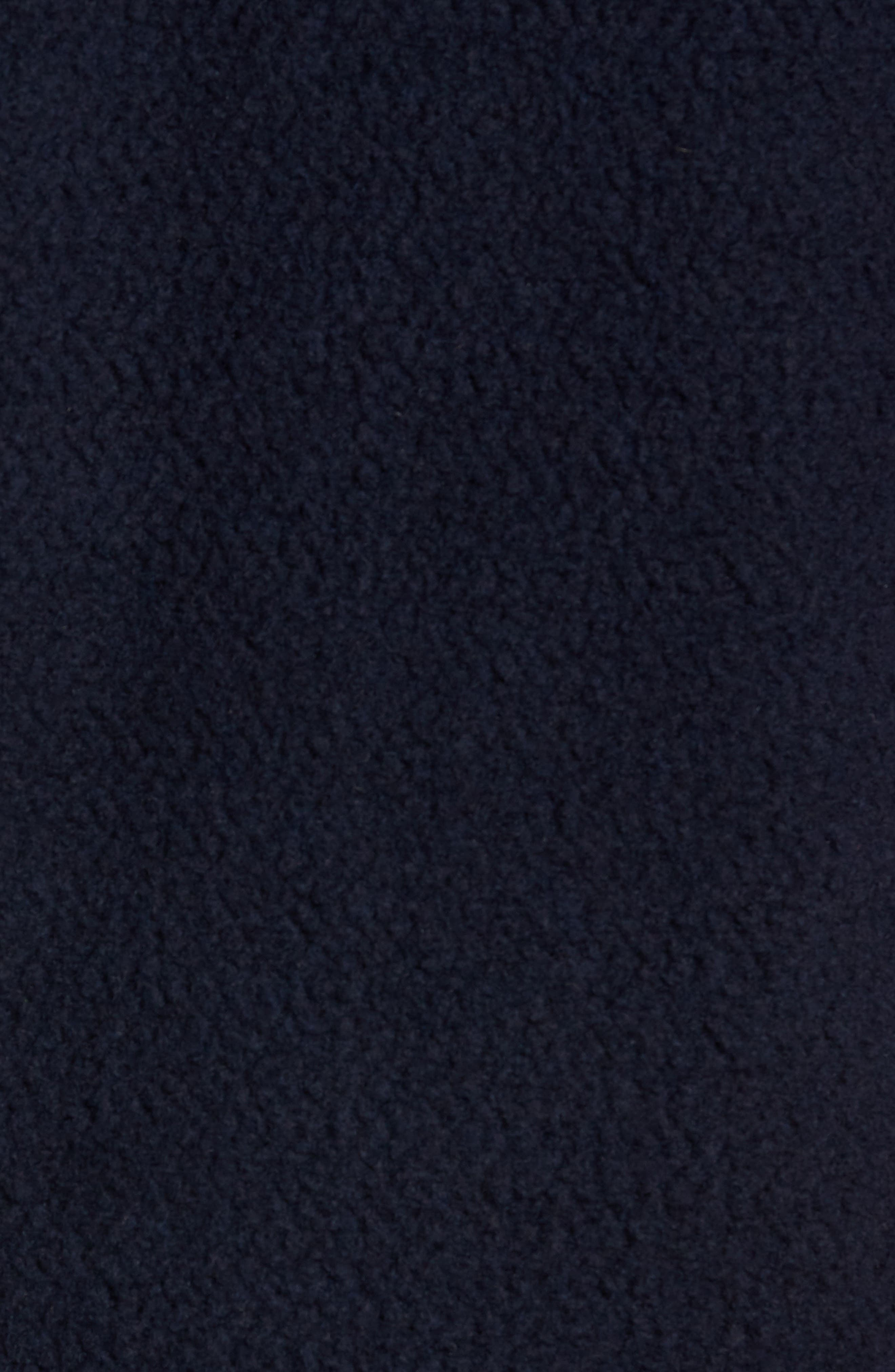 PATAGONIA,                             Woolyester Fleece Quarter Zip Pullover,                             Alternate thumbnail 5, color,                             CLASSIC NAVY