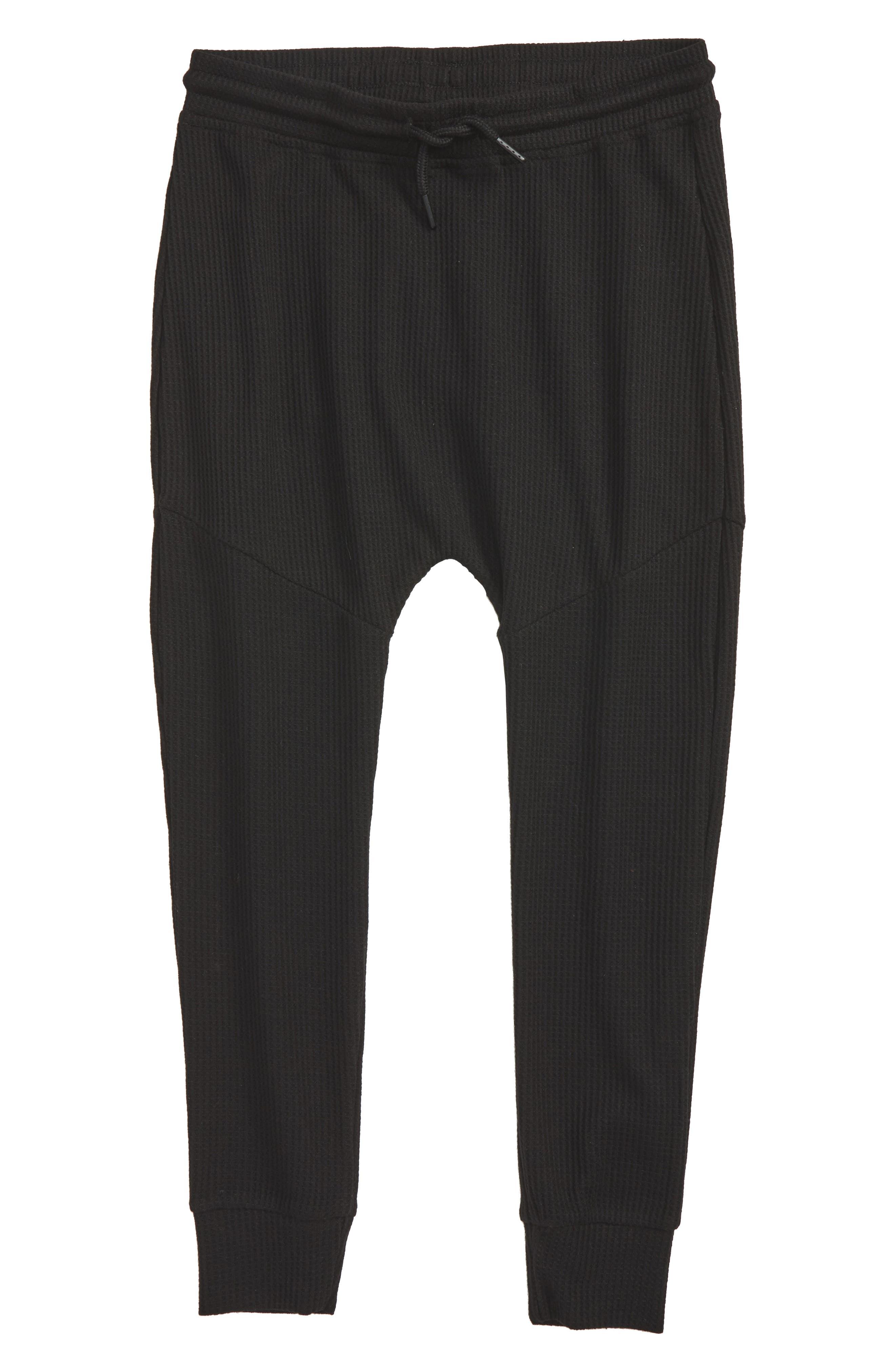 Jude Thermal Knit Jogger Pants,                             Main thumbnail 1, color,                             001