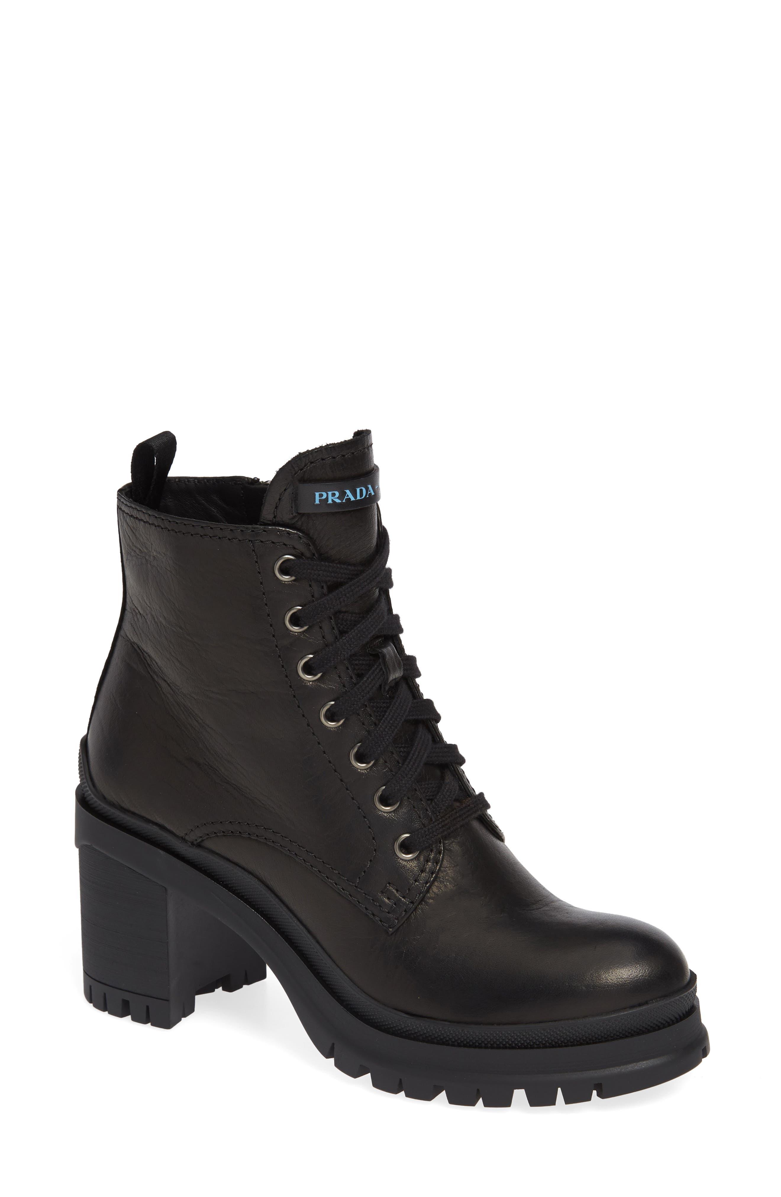 Block Heel Combat Boot,                             Main thumbnail 1, color,