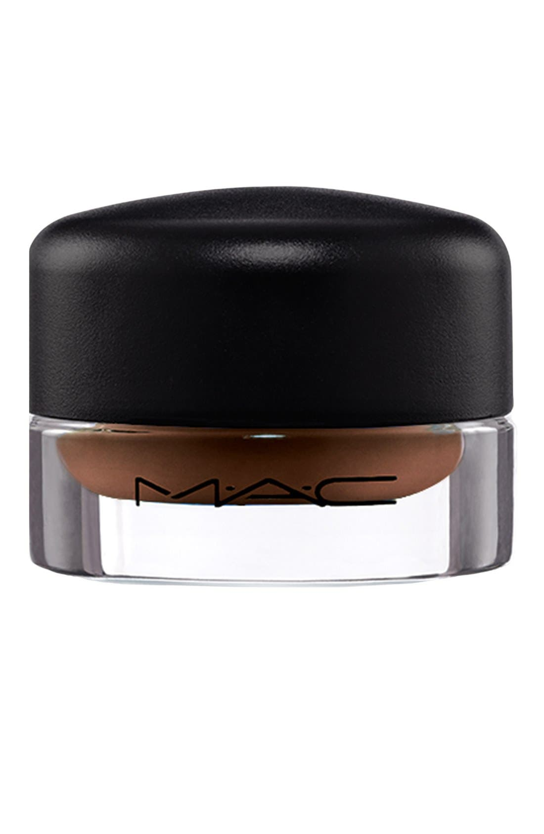 MAC Fluidline Brow Gel,                             Alternate thumbnail 4, color,                             DEEP DARK BRUNETTE