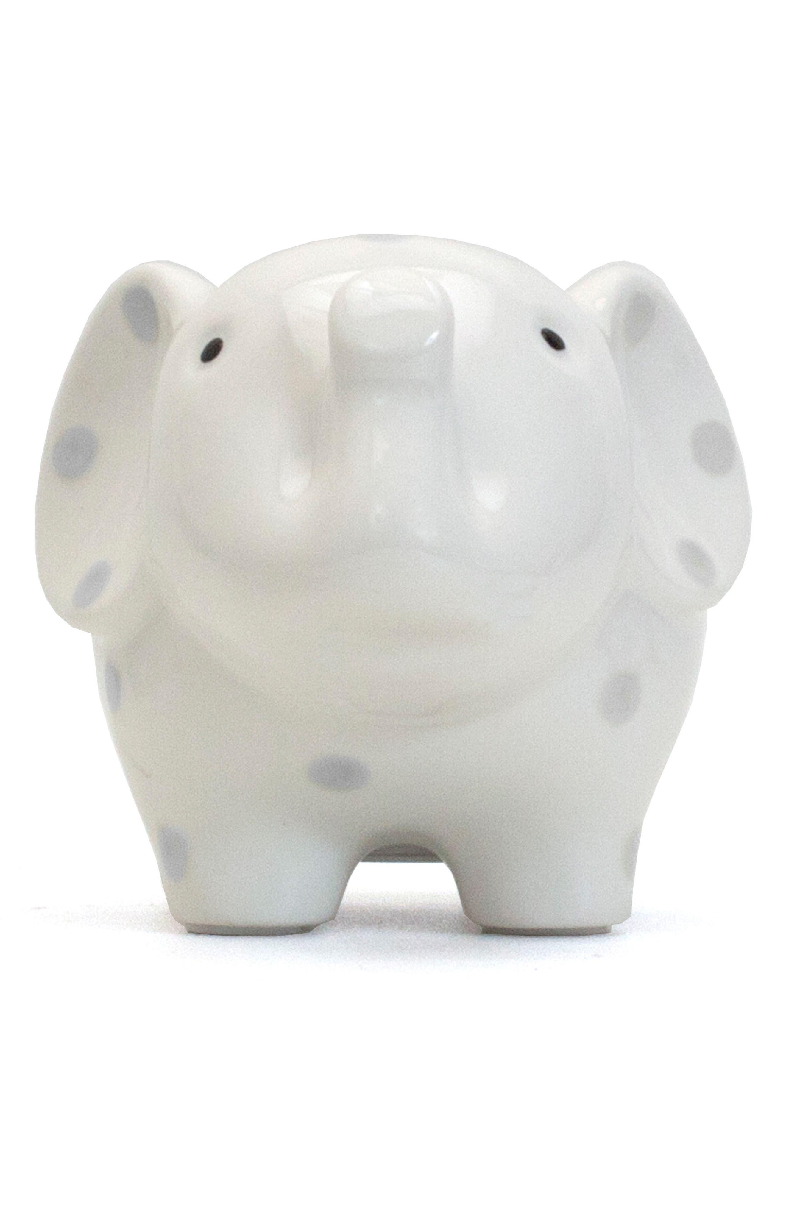 Polka Dot Elephant Bank,                             Alternate thumbnail 2, color,                             020