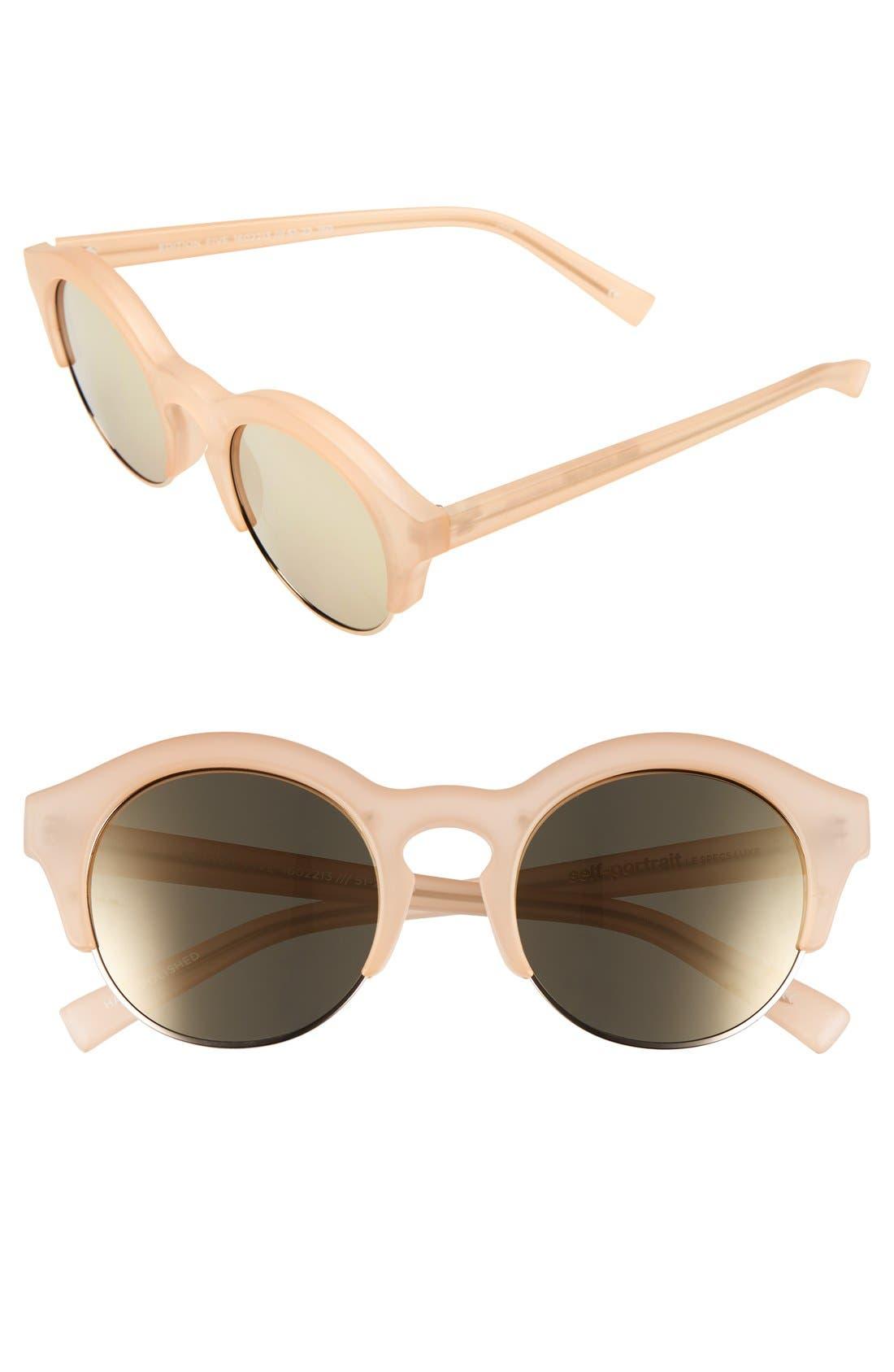 'Edition Five' 51mm Sunglasses,                             Main thumbnail 3, color,