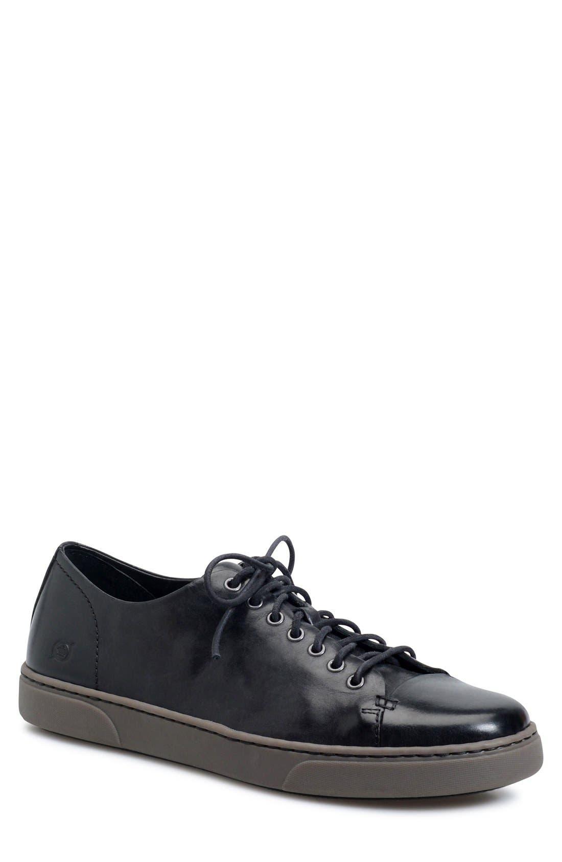 'Bayne' Cap Toe Sneaker,                             Main thumbnail 1, color,                             001