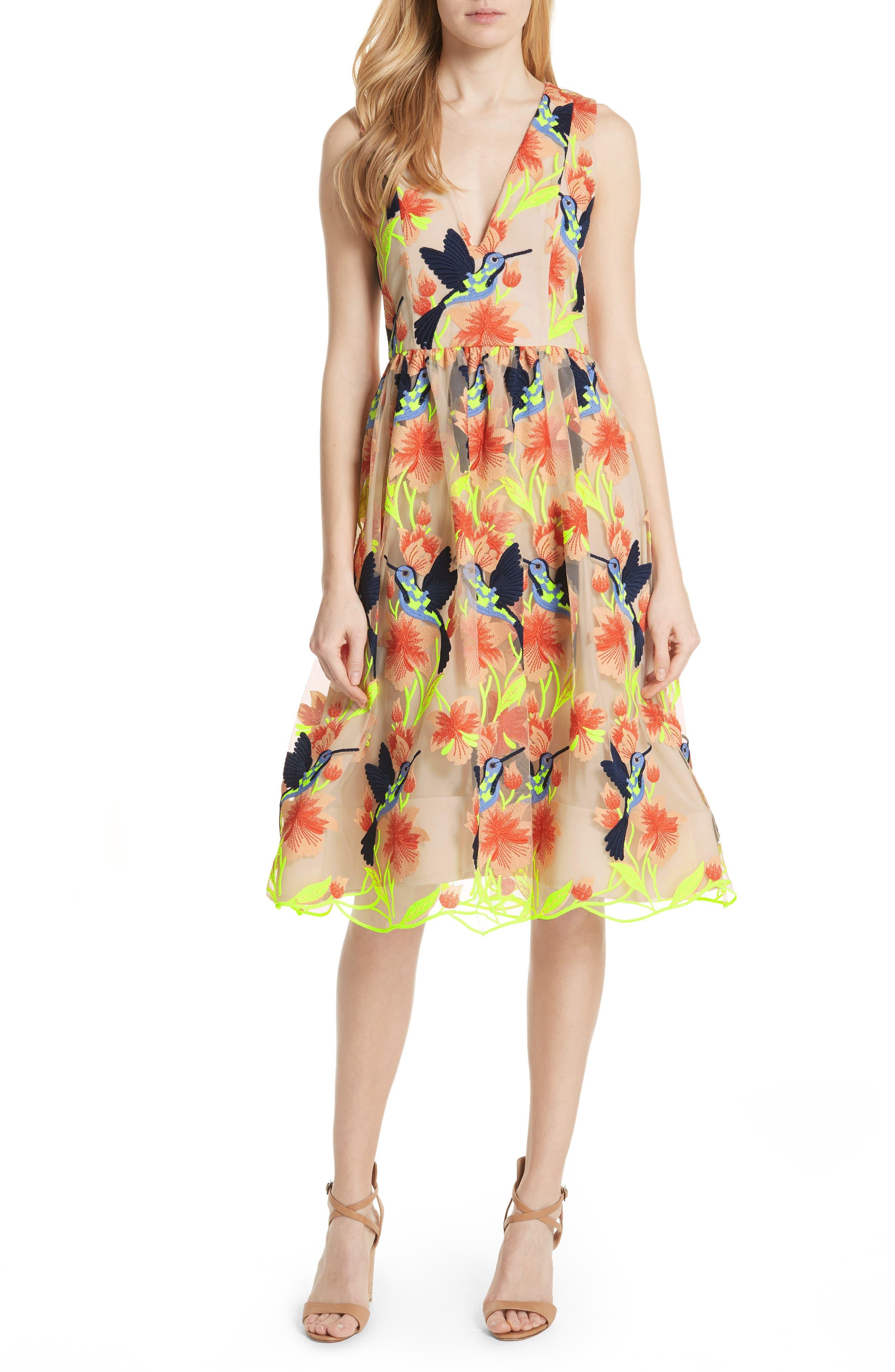 Becca Hummingbird Dress,                         Main,                         color, 260