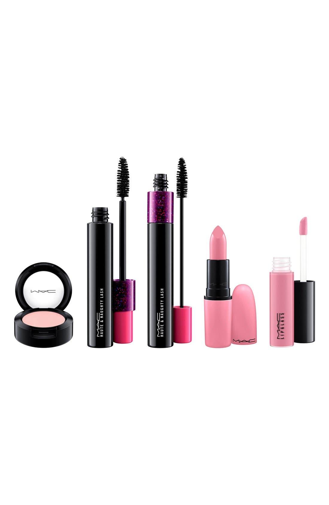 MAC 'Look in a Box - Fun and Flirty' Pink Lip & Eye Kit,                             Alternate thumbnail 4, color,                             000