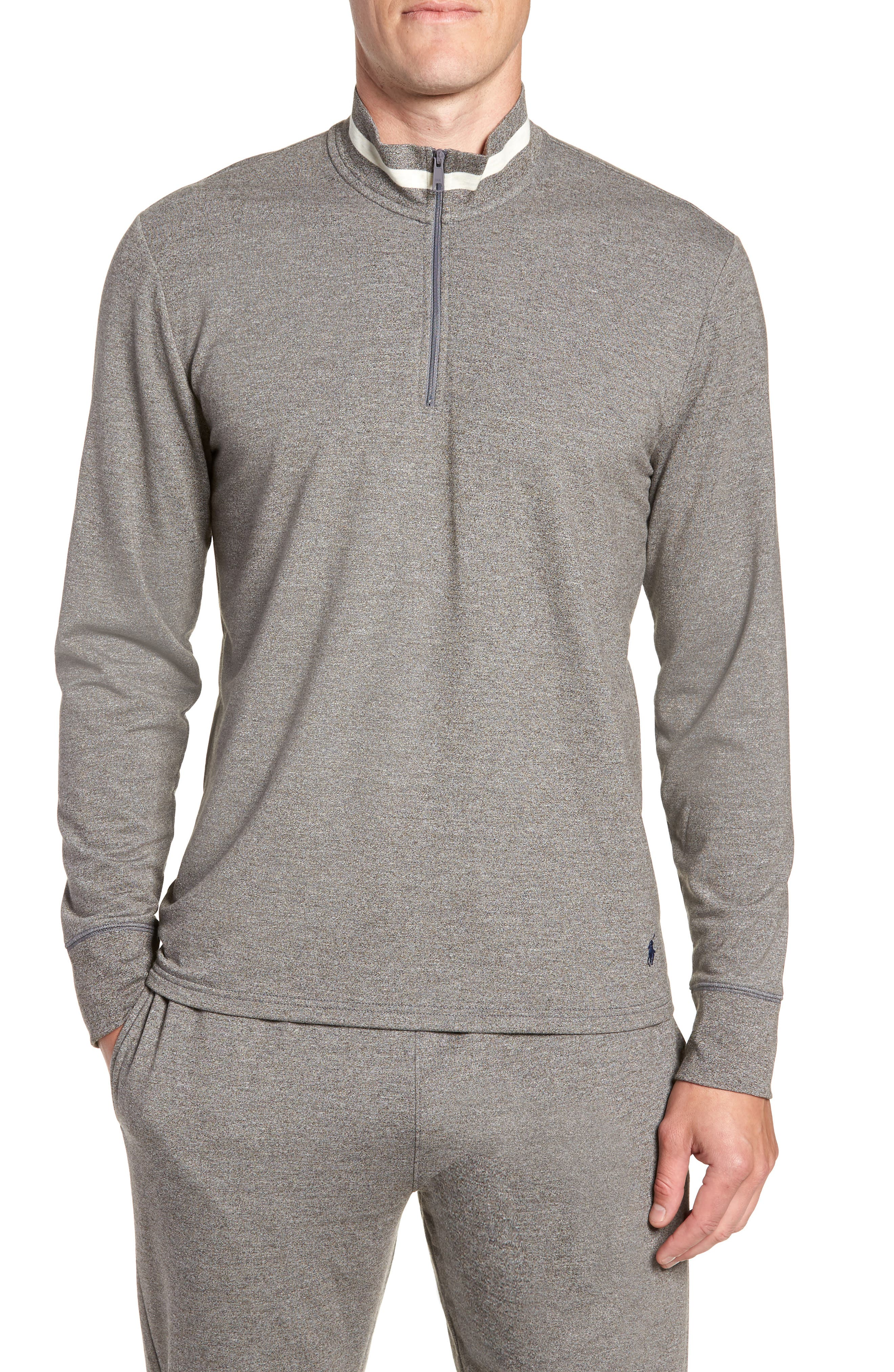 Polo Ralph Lauren Half-Zip Pullover, Grey