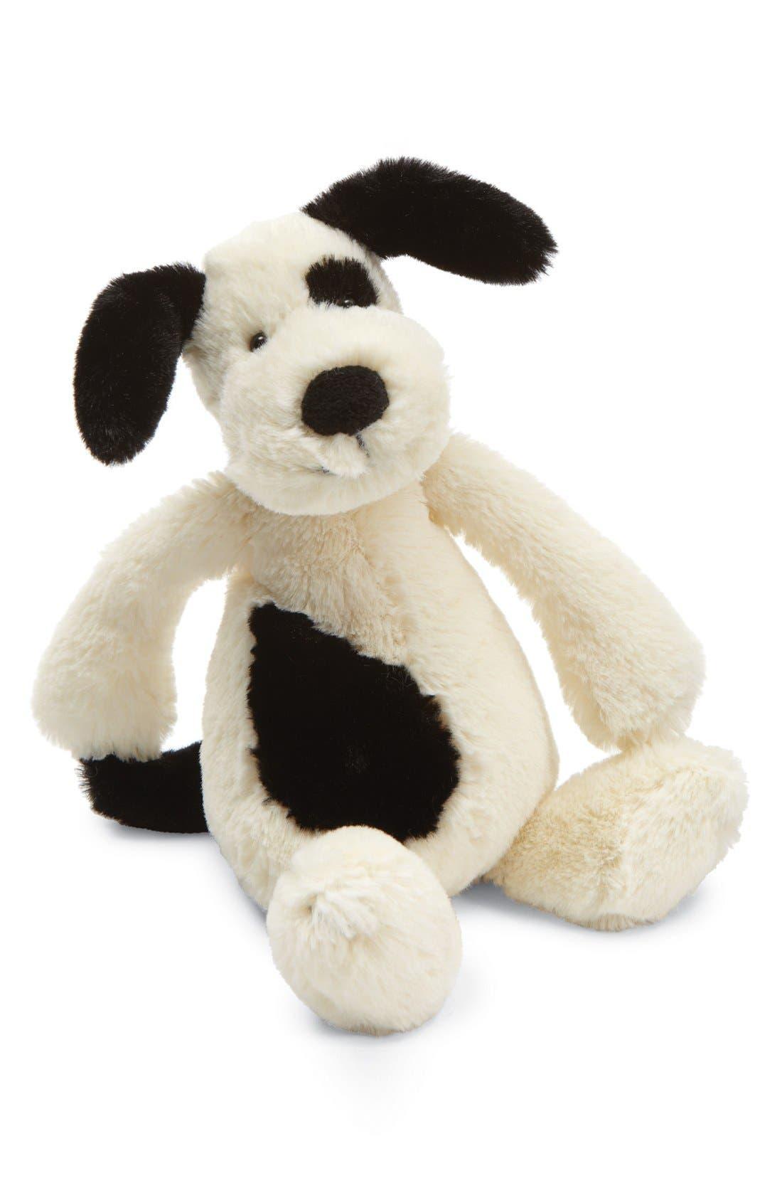 'Small Bashful Puppy' Stuffed Animal,                             Alternate thumbnail 3, color,                             CREAM
