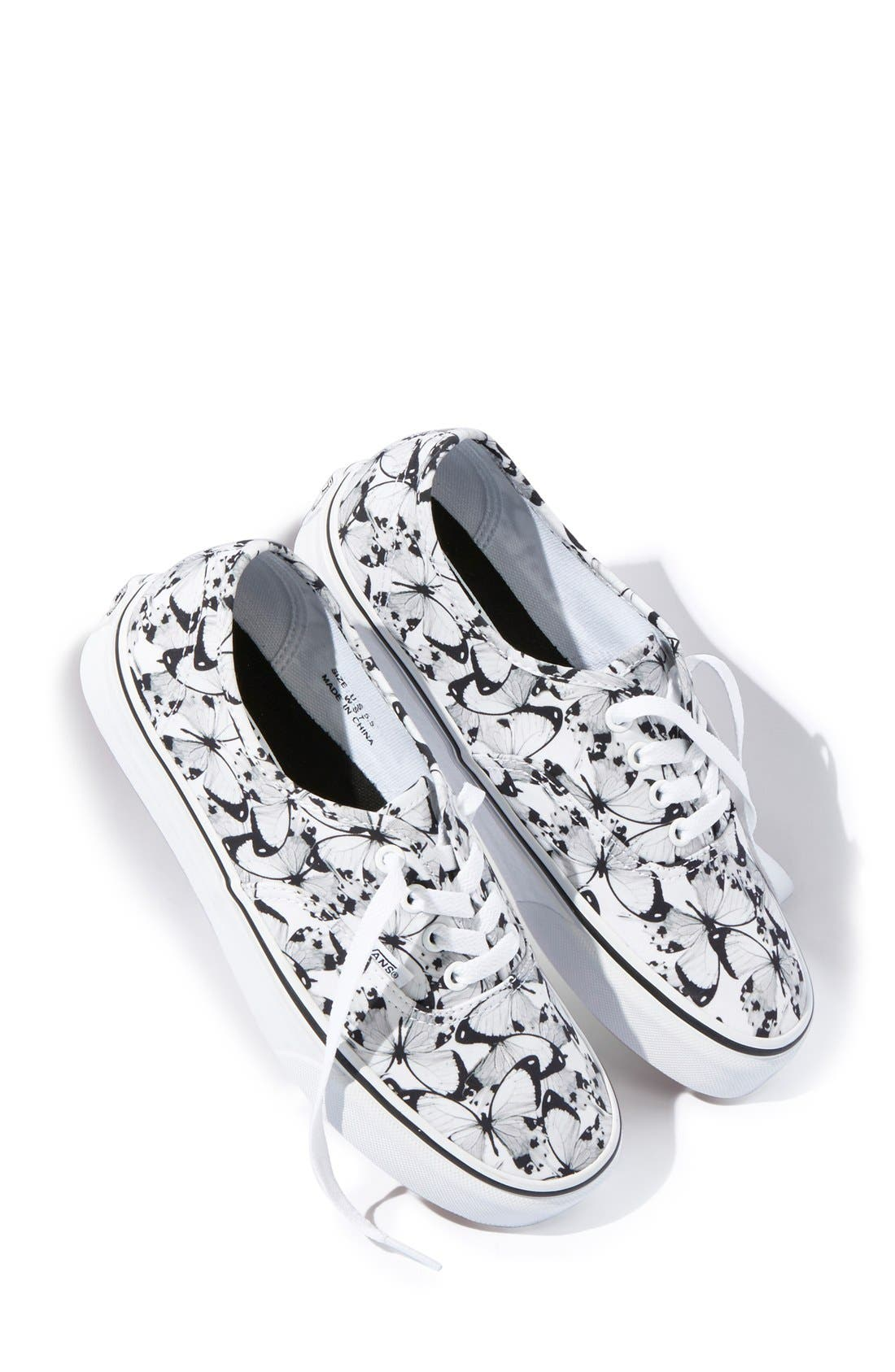 'Authentic - Butterfly' Sneaker, Main, color, 100