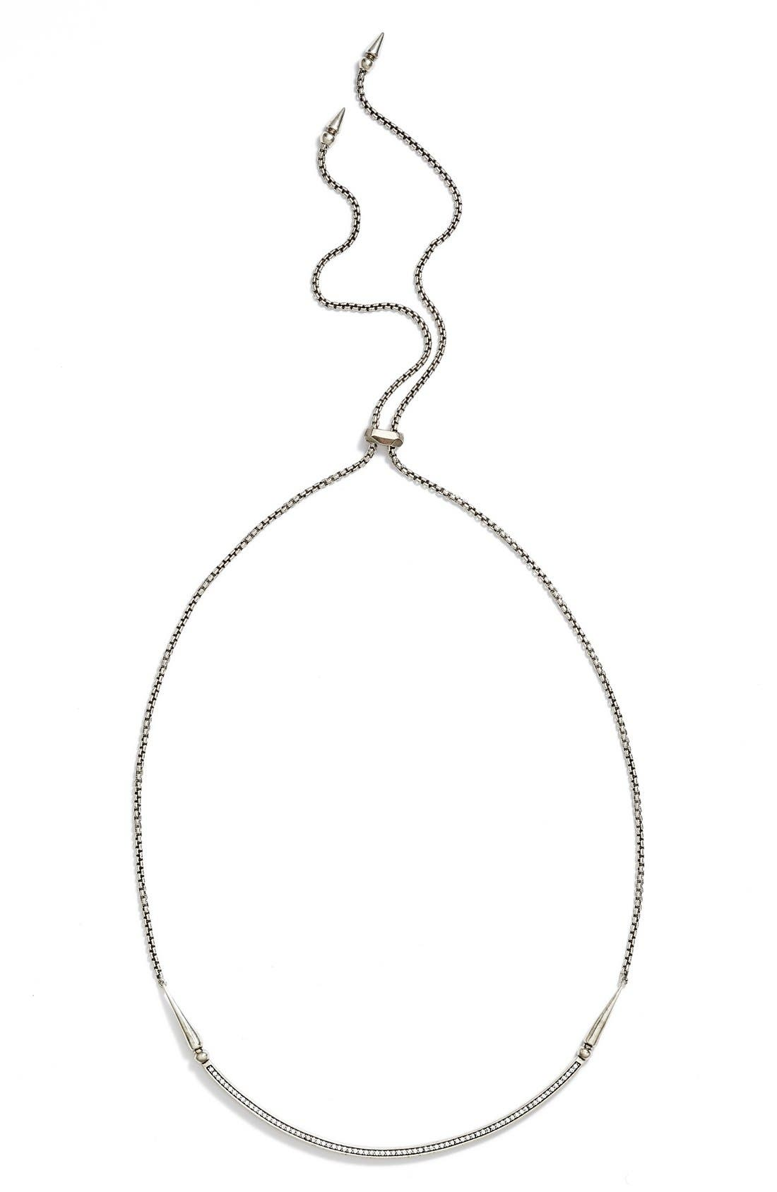 'Scottie' Pendant Necklace,                         Main,                         color, 040
